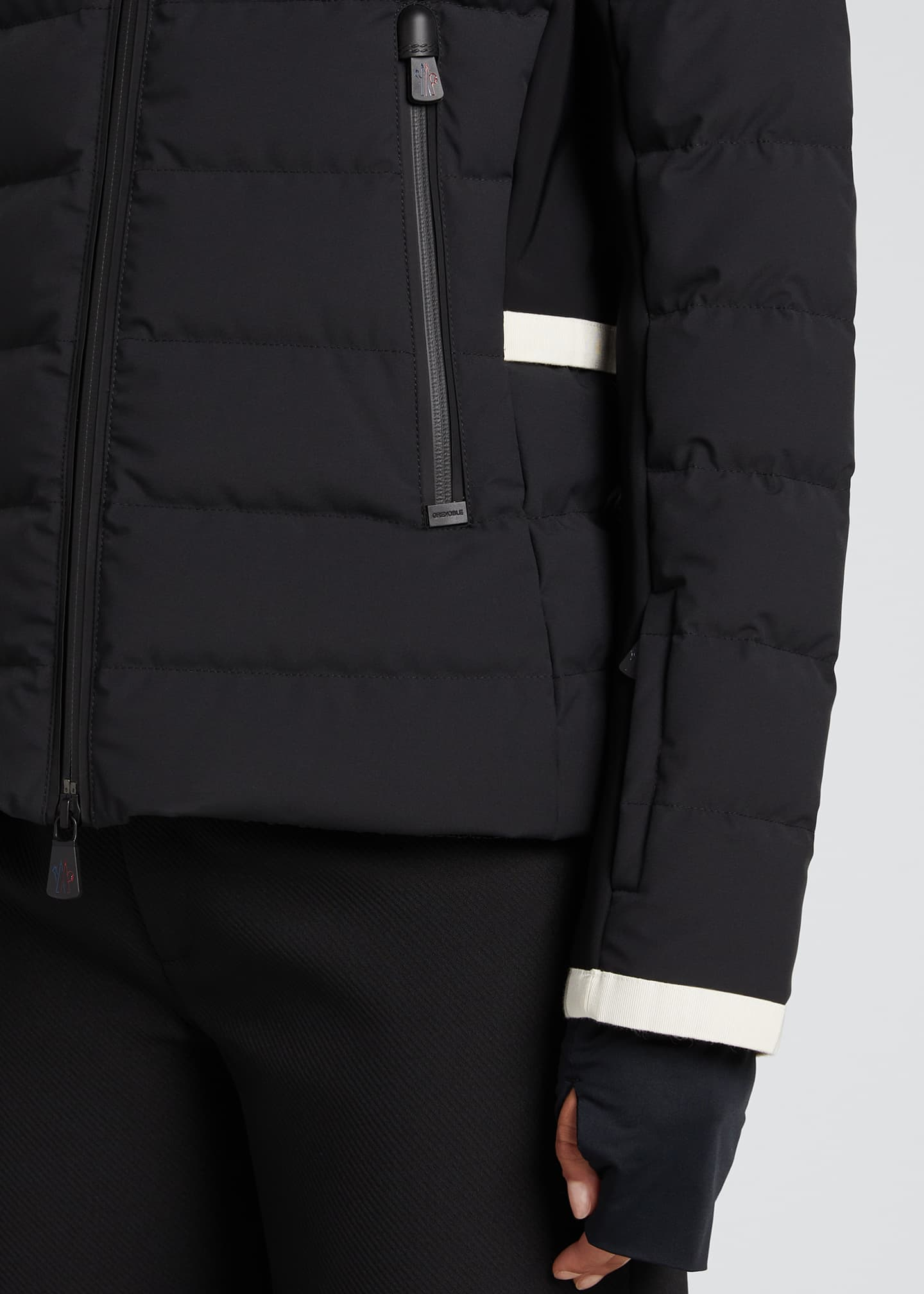 Image 4 of 5: Lamoura Fitted Down Ski Jacket