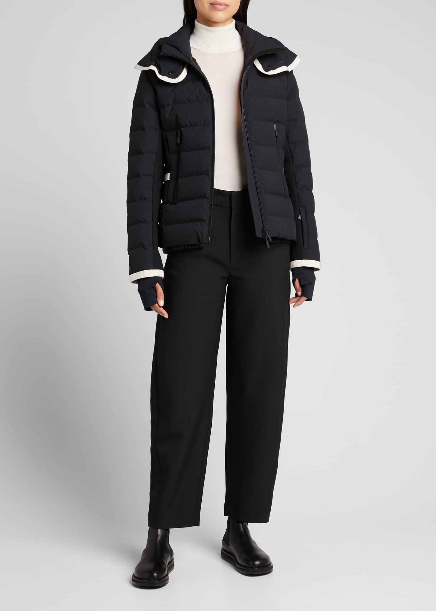 Image 1 of 5: Lamoura Fitted Down Ski Jacket