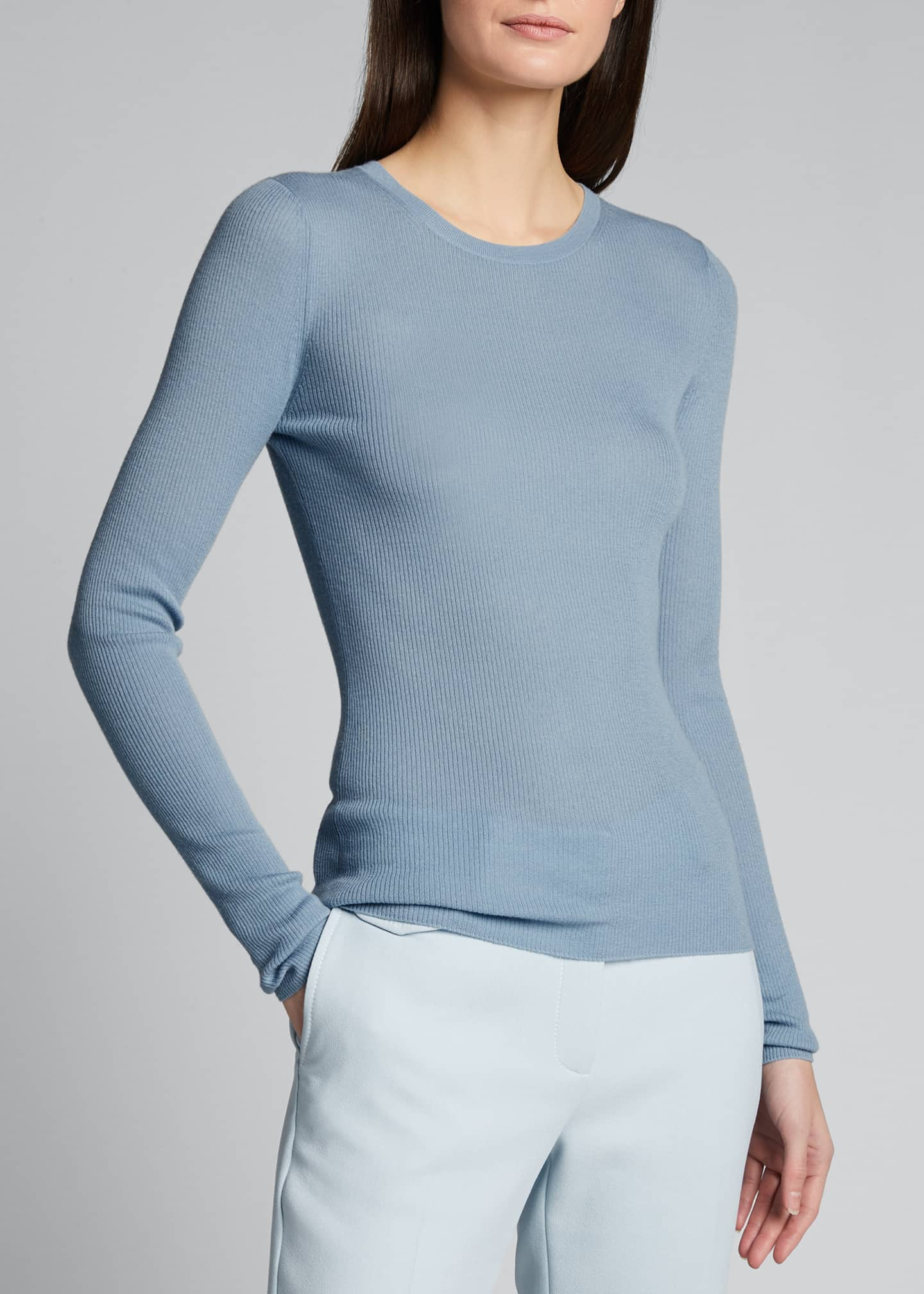 Image 3 of 5: Featherweight Cashmere Sweater