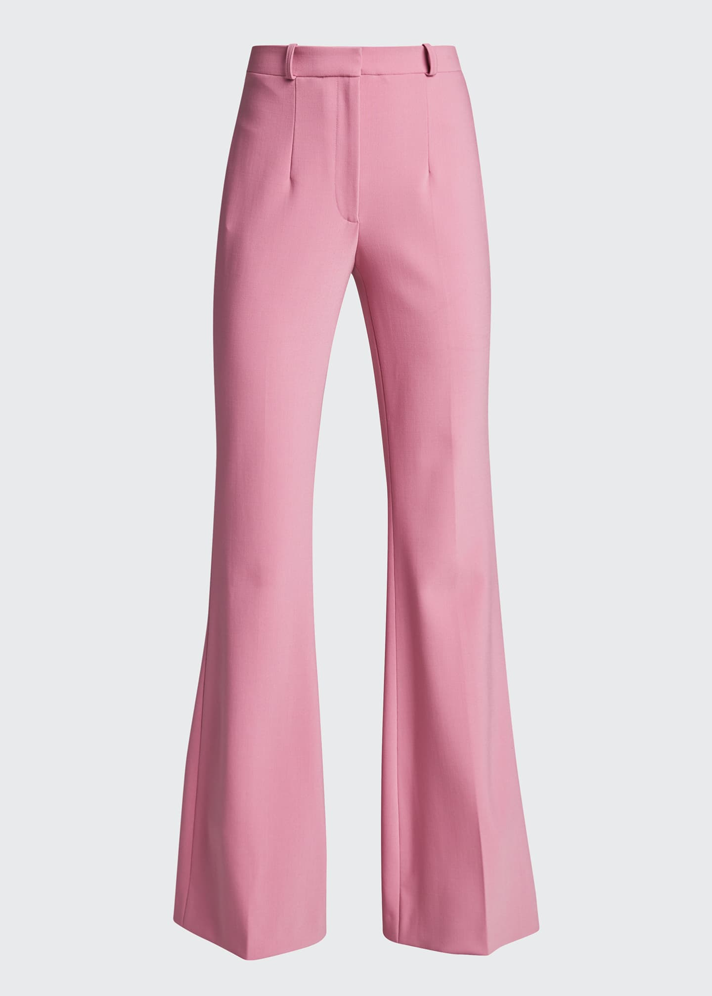 Image 5 of 5: Charlie Crepe High-Rise Flare Pants
