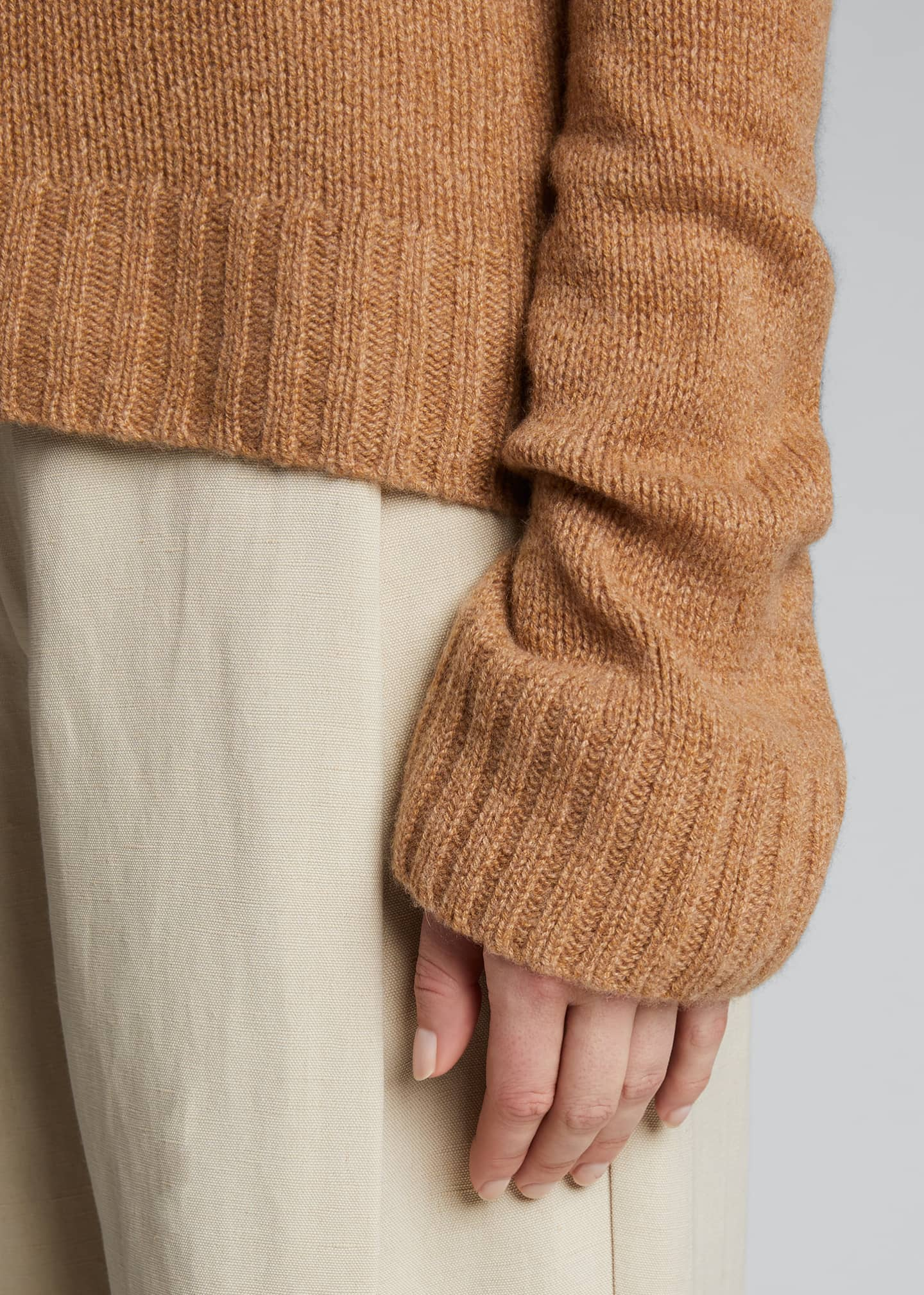 Image 4 of 5: Mary Jane Cashmere Sweater