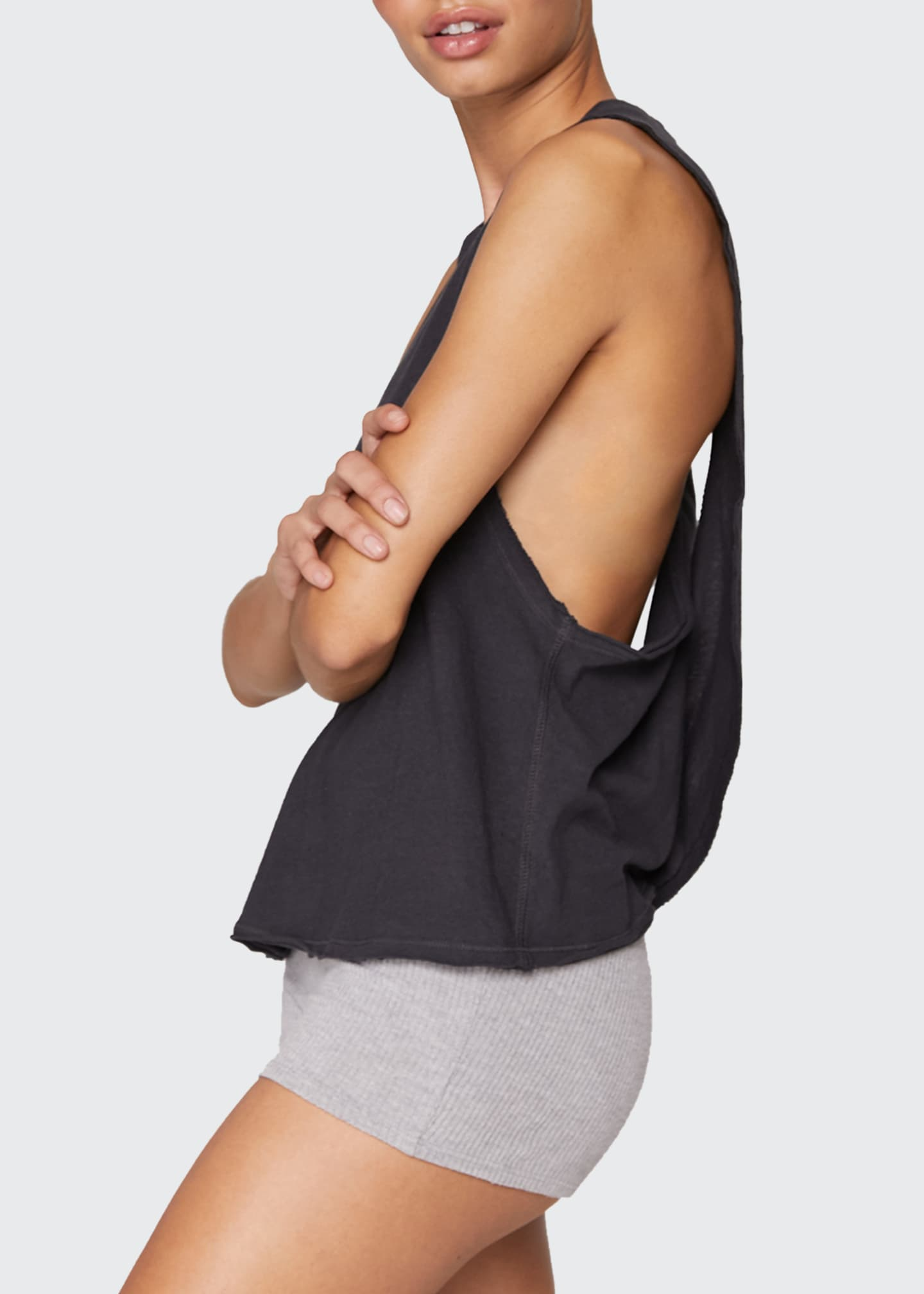 Image 3 of 3: Surplice Back Swing Tank Top