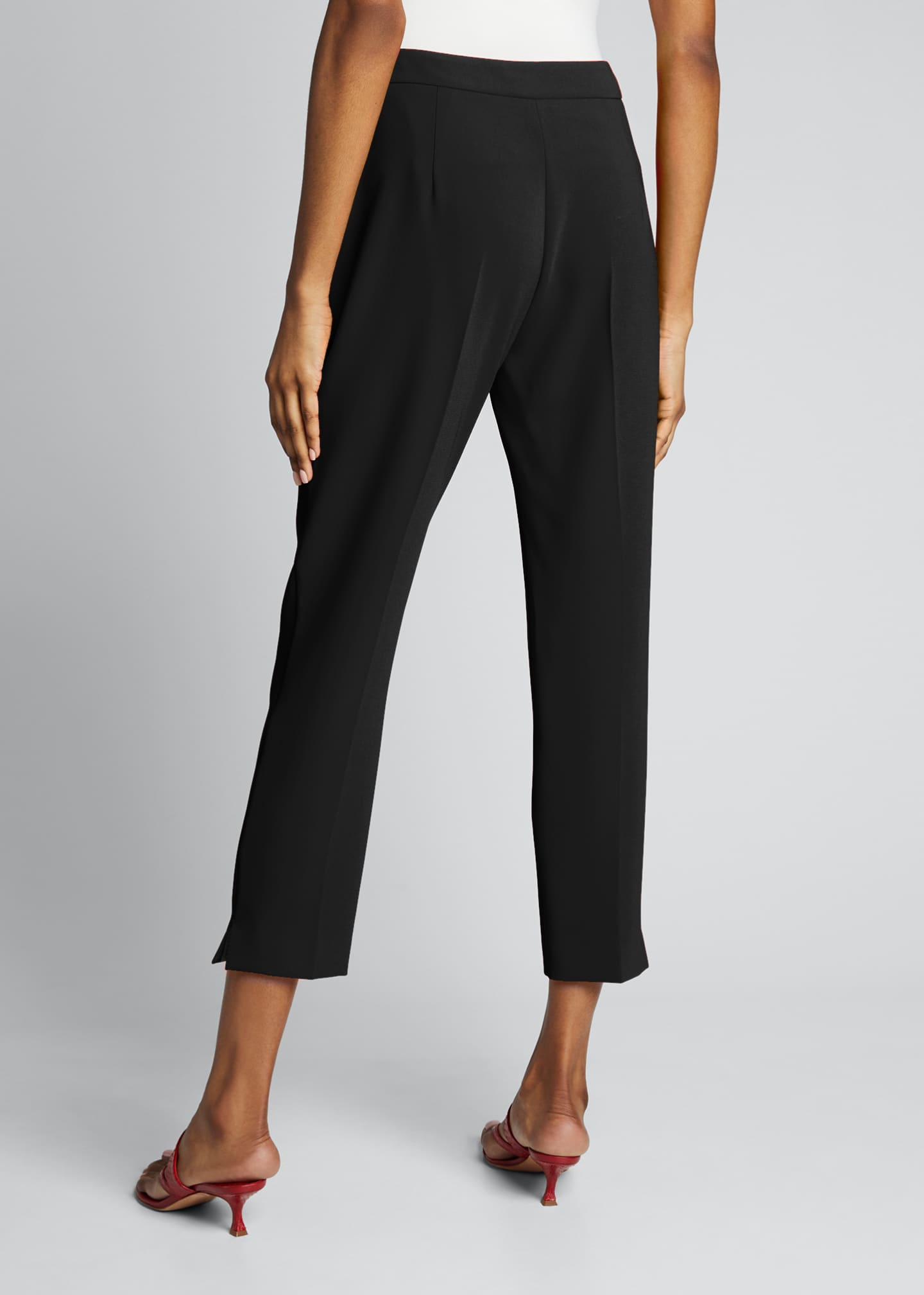 Image 2 of 5: Kerry Crepe Cropped Pants