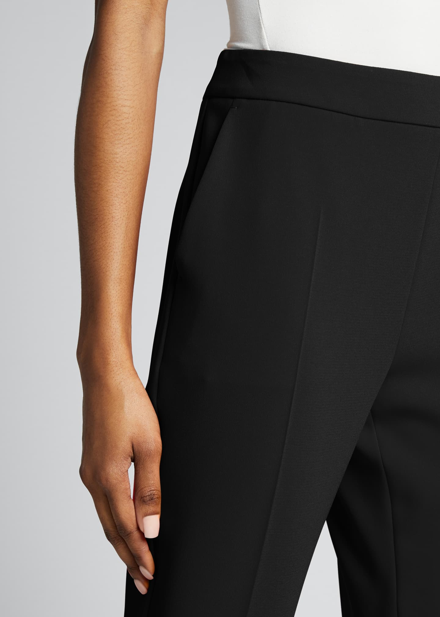 Image 4 of 5: Kerry Crepe Cropped Pants