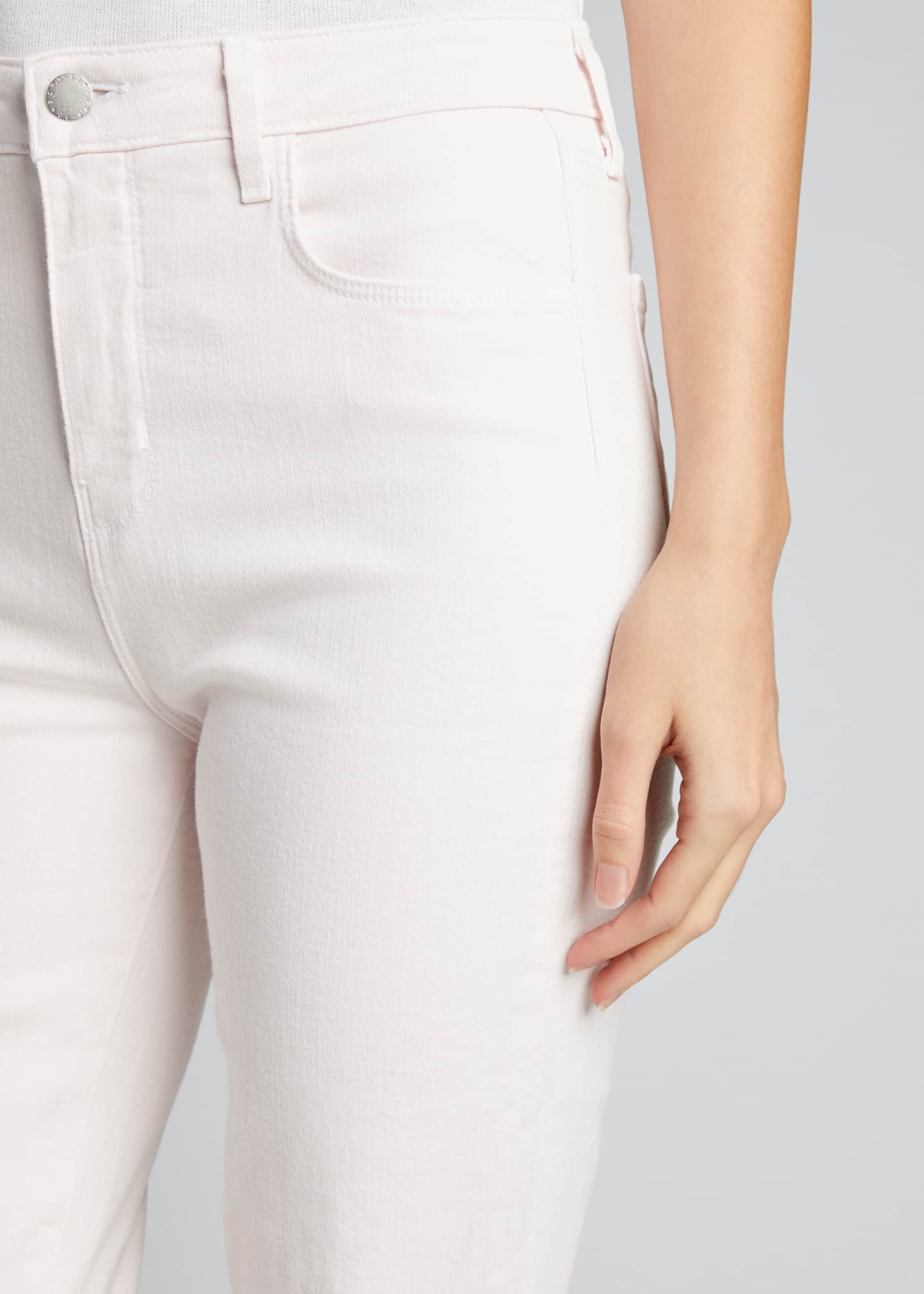 Image 4 of 5: High Line High-Rise Skinny Jeans with Knee Rip