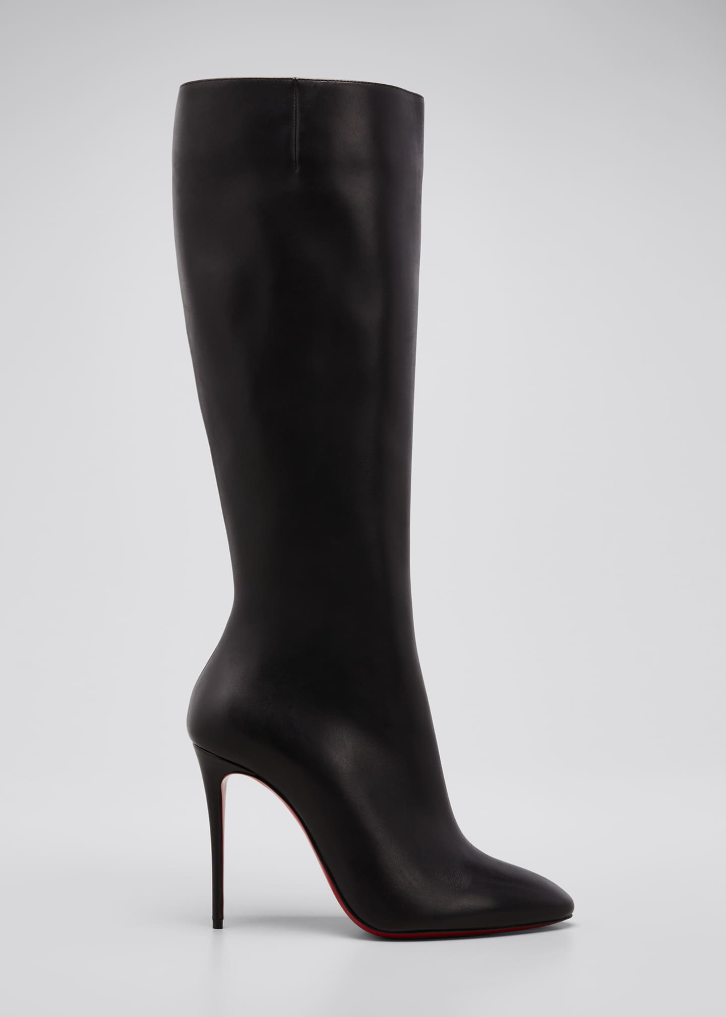 Image 1 of 5: Eloise Zip Red Sole Boots