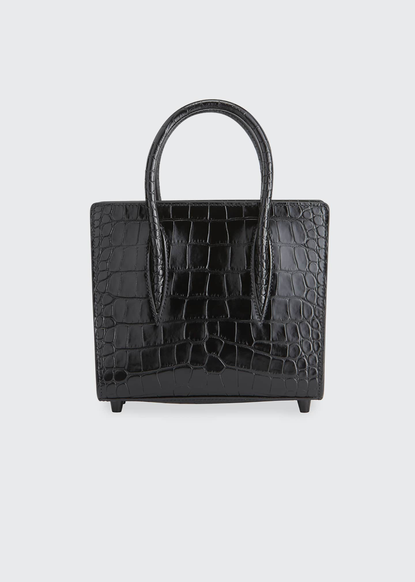 Image 1 of 5: Paloma Mini Mock-Croc Tote Bag