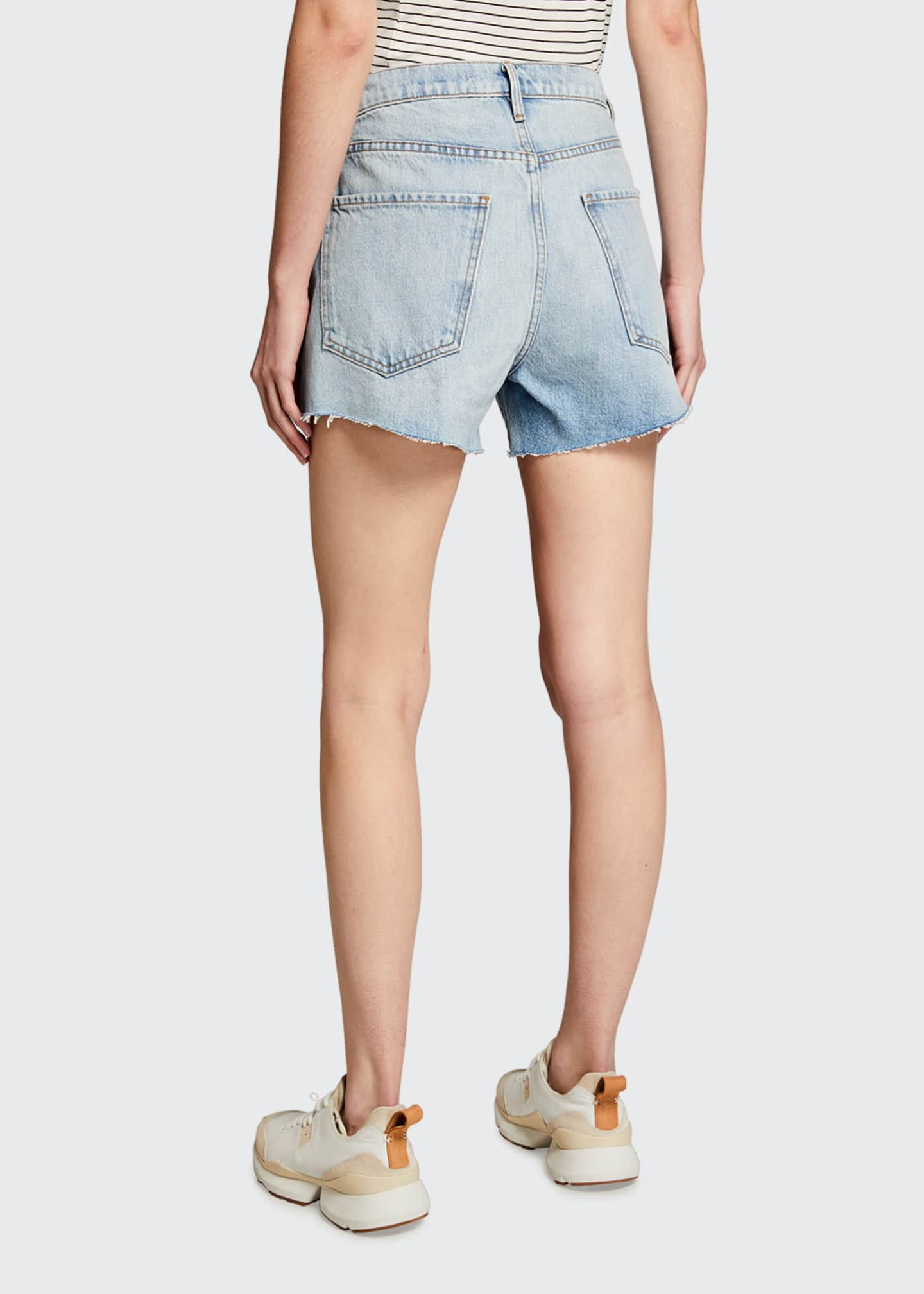 Image 2 of 3: Le Ultra Baggy Denim Shorts