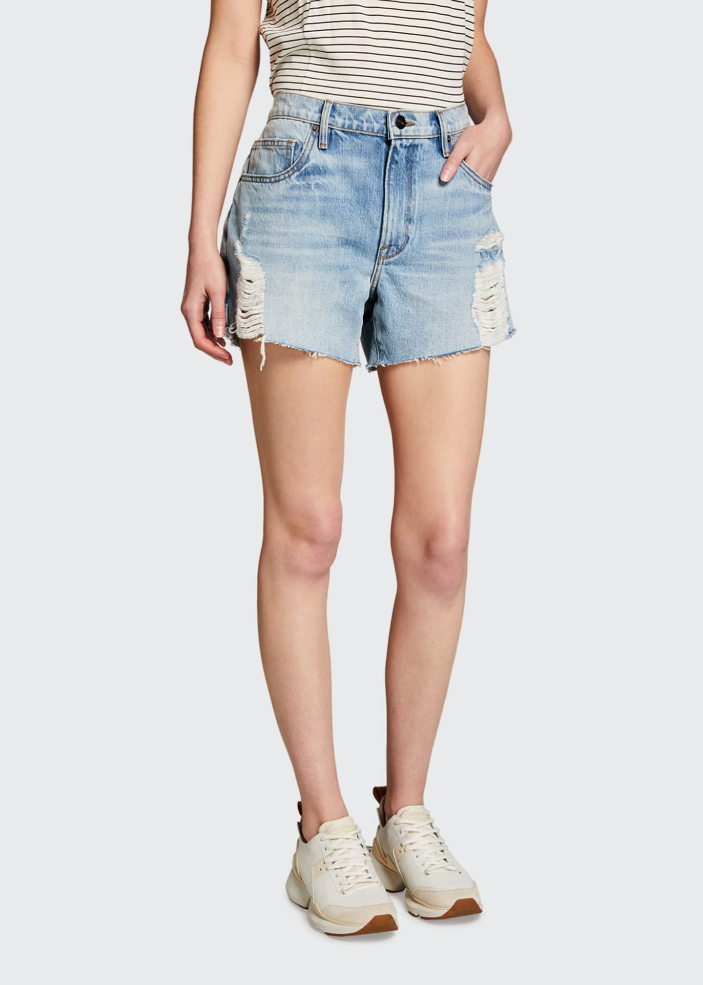 Image 1 of 3: Le Ultra Baggy Denim Shorts