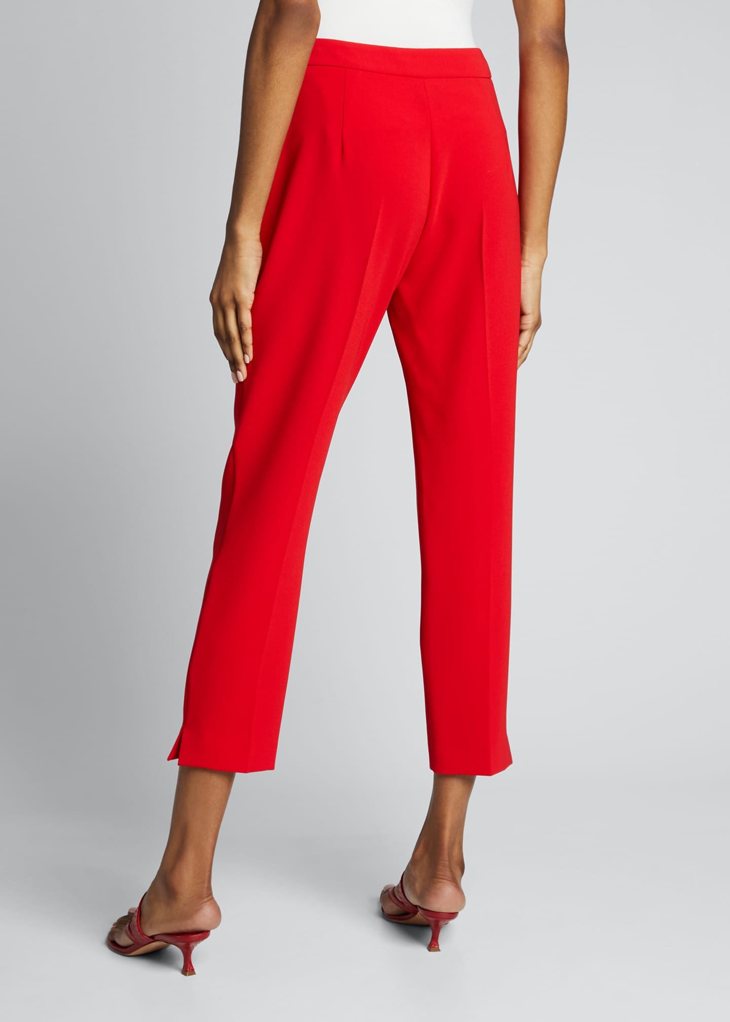 Image 2 of 5: Kerry Crepe Ankle Pants