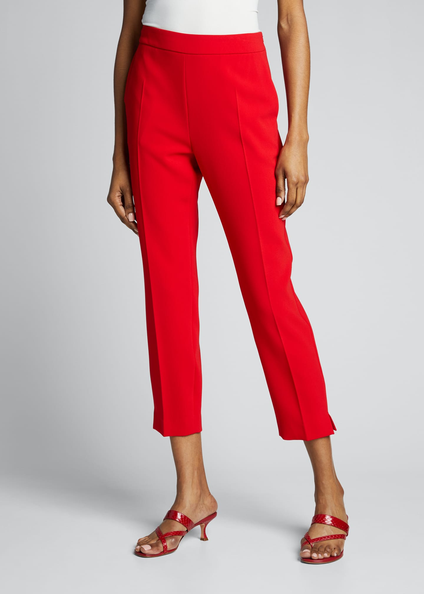 Image 3 of 5: Kerry Crepe Ankle Pants