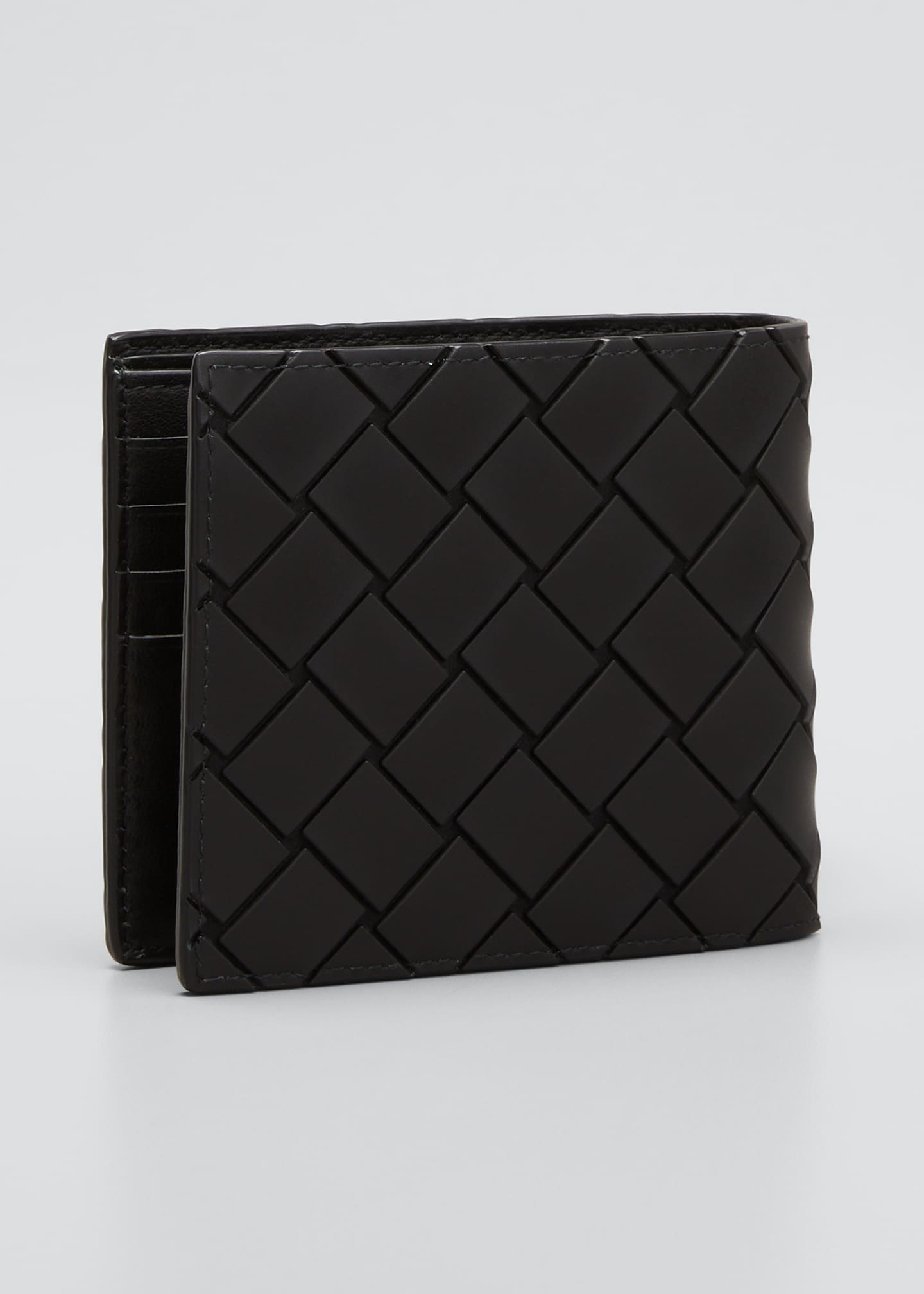 Image 2 of 2: Men's Woven Rubber Wallet