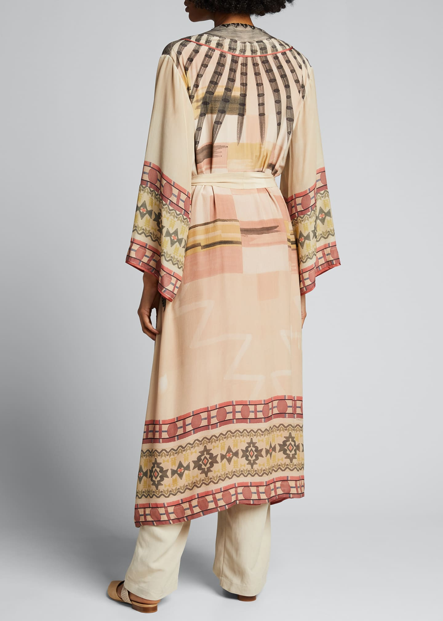 Image 2 of 5: Nanuk Long Robe Dress