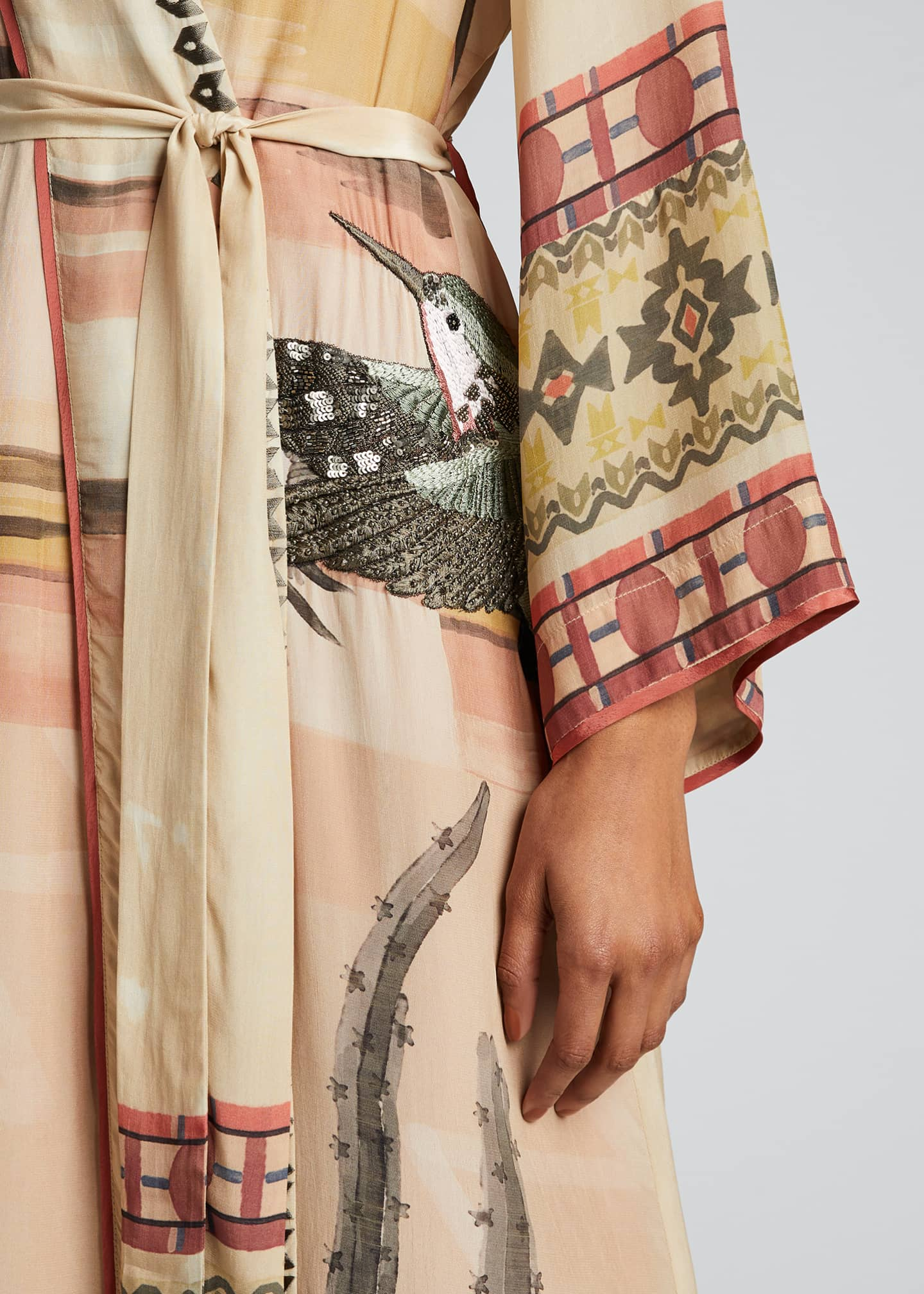 Image 4 of 5: Nanuk Long Robe Dress