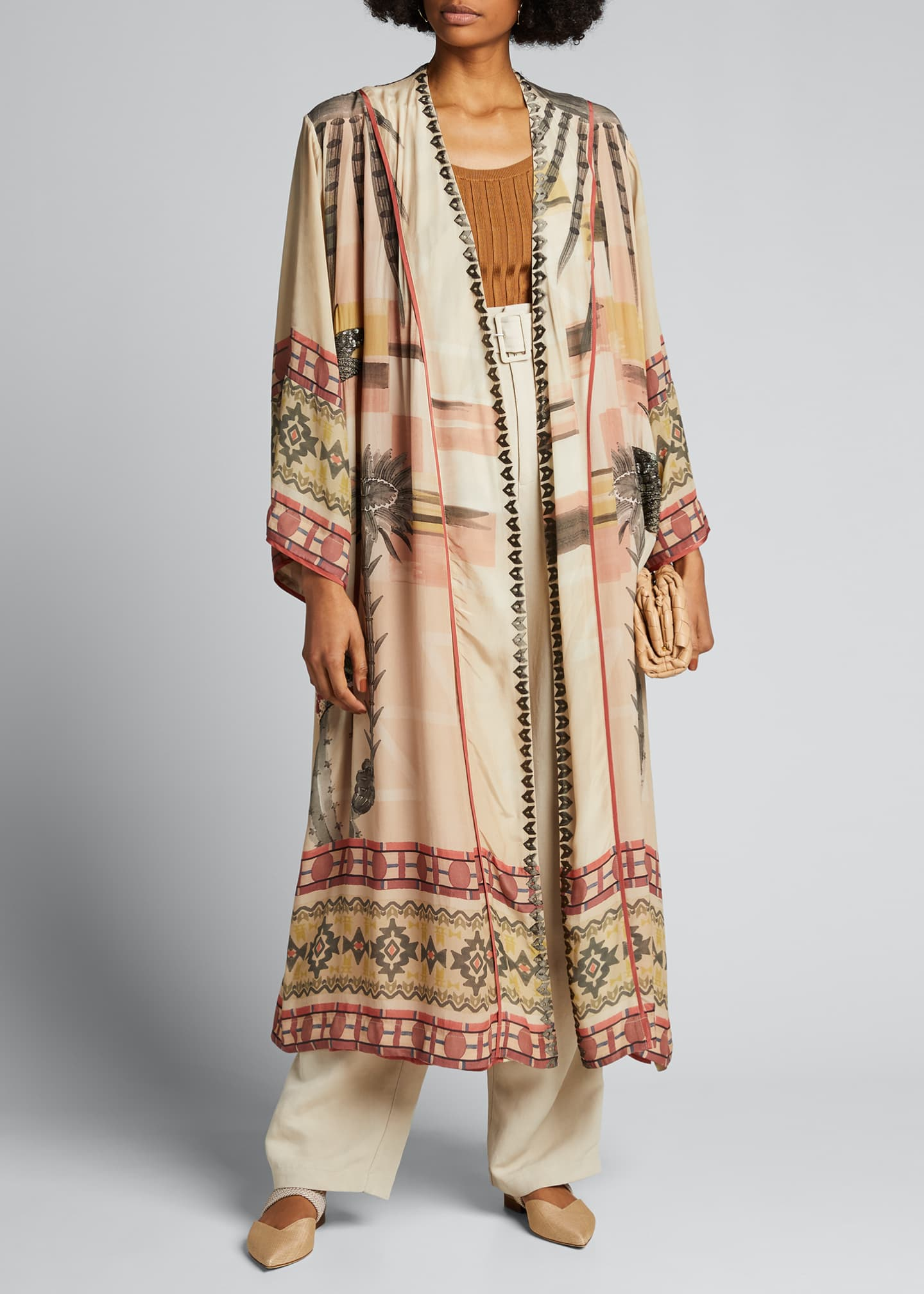 Image 1 of 5: Nanuk Long Robe Dress