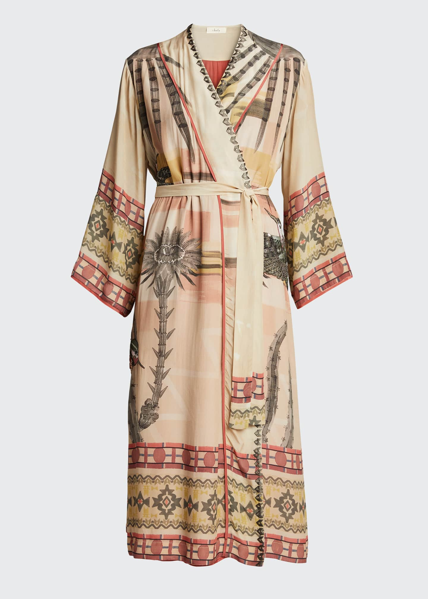 Image 5 of 5: Nanuk Long Robe Dress