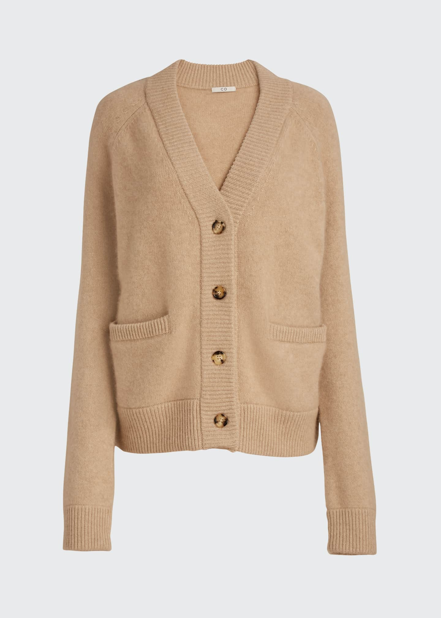 Image 5 of 5: Cashmere Cropped Cardigan