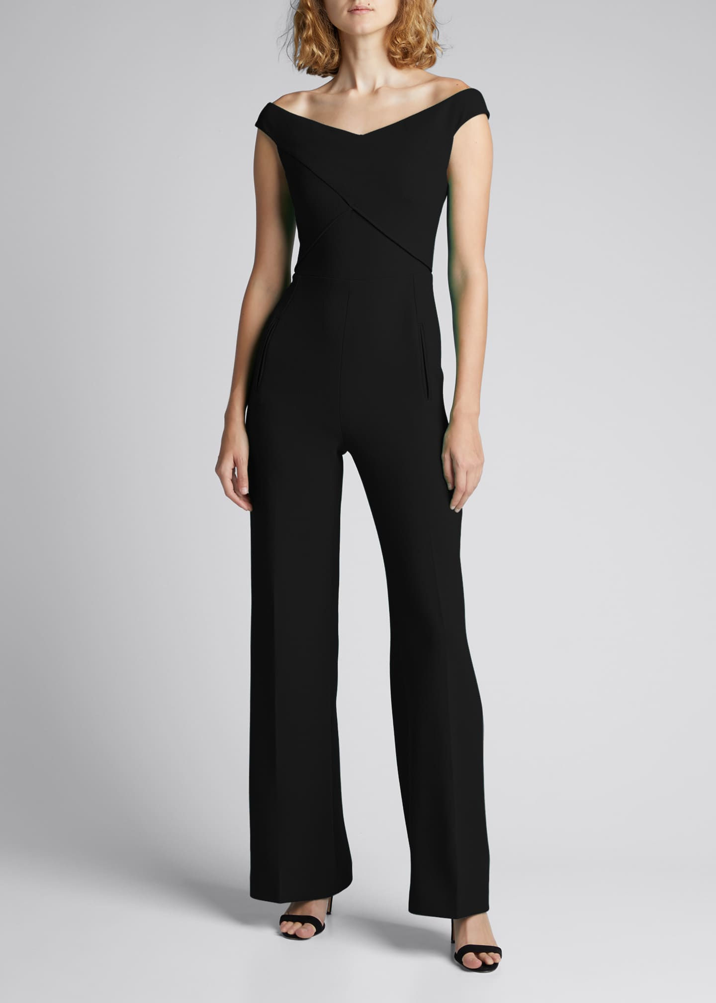 Image 1 of 5: Harran Off-Shoulder Jumpsuit