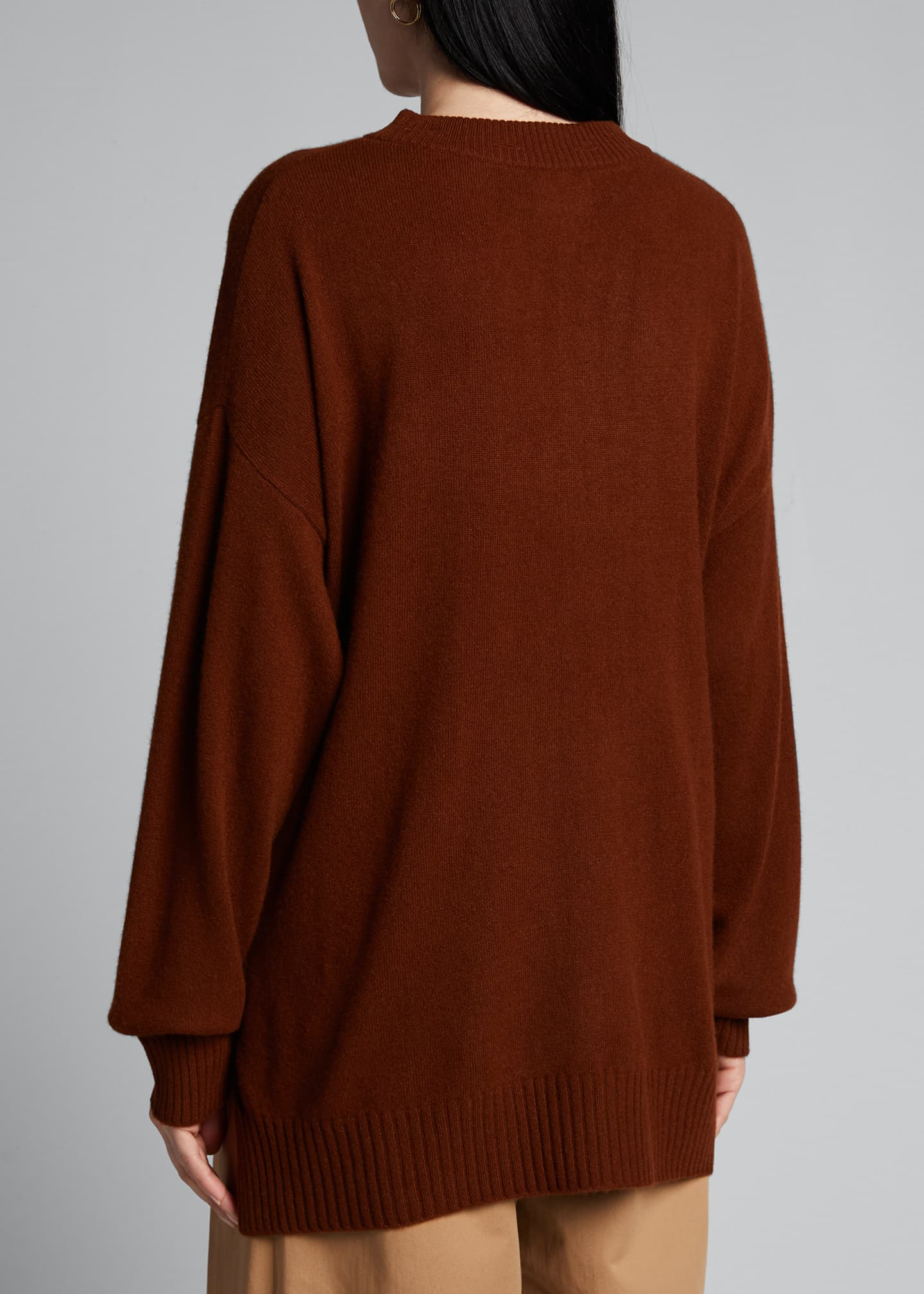 Image 2 of 5: Cashmere Crewneck Sweater