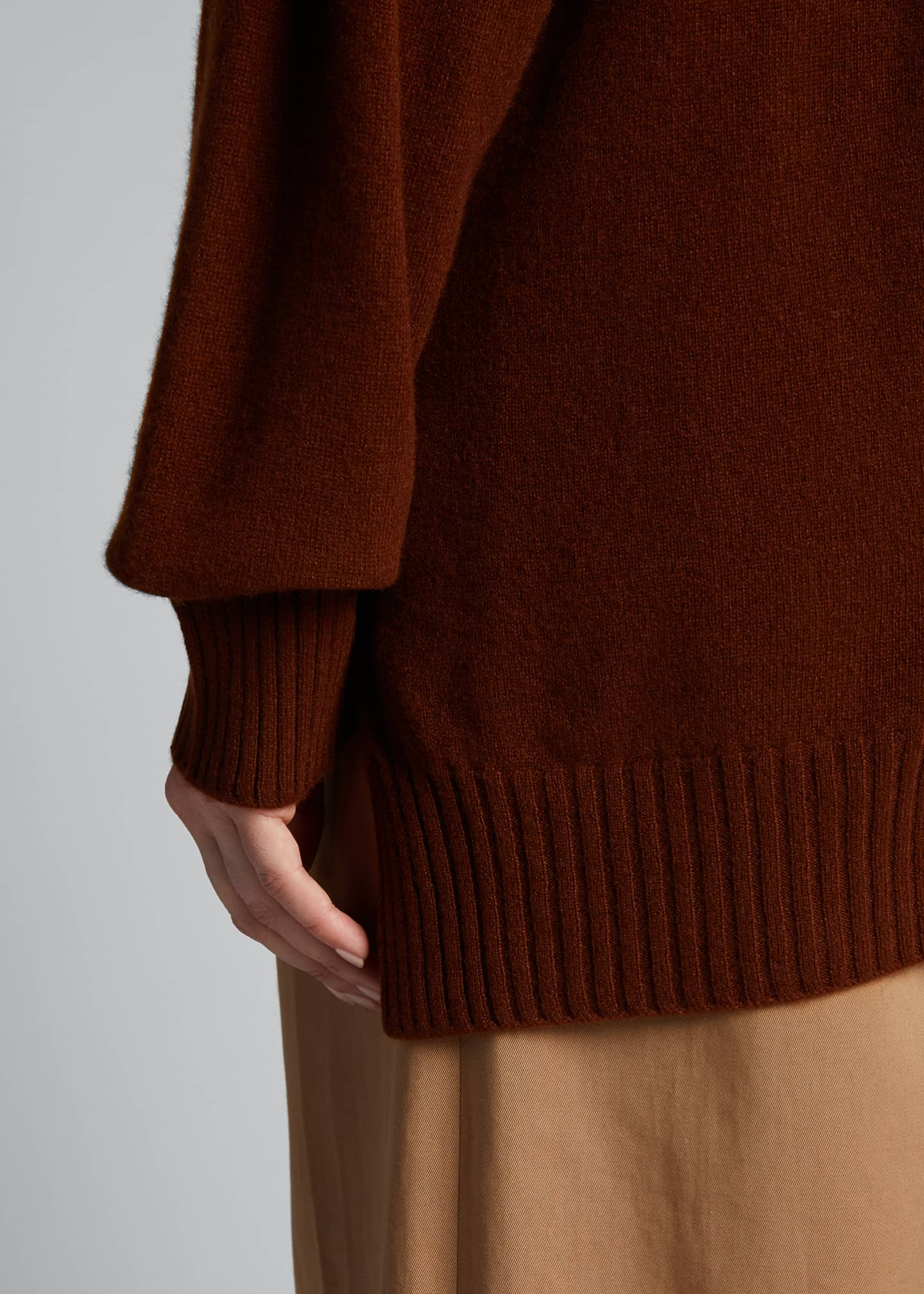 Image 4 of 5: Cashmere Crewneck Sweater
