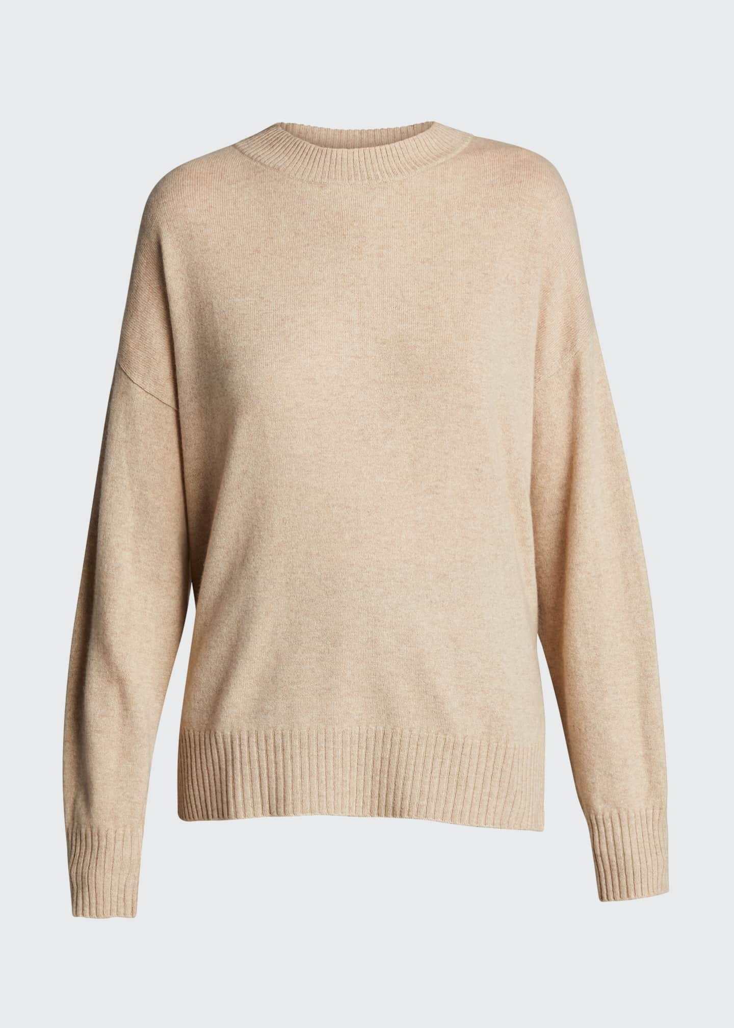 Image 5 of 5: Cashmere Crewneck Sweater