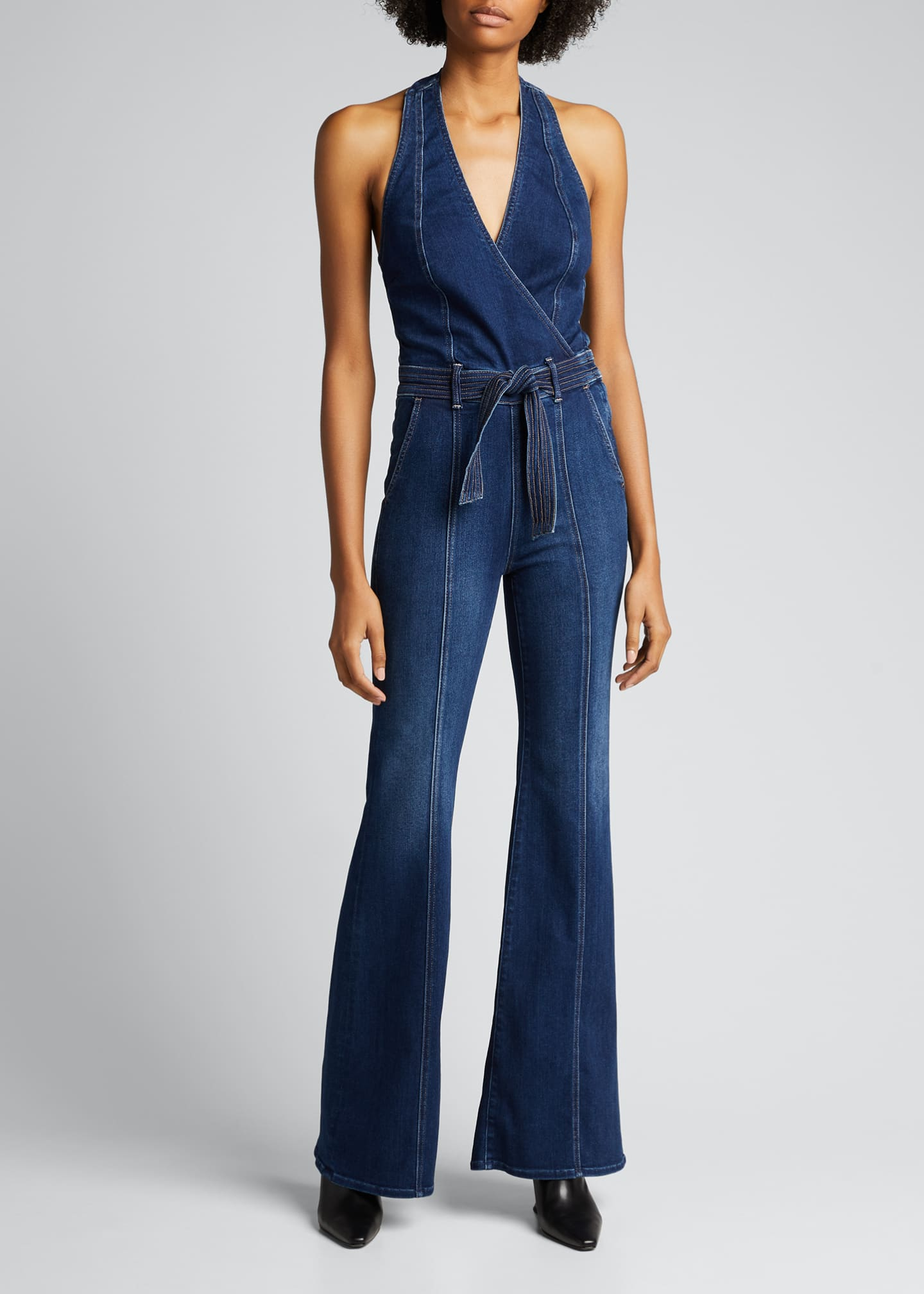 Image 3 of 5: The Halter Doozy Jumpsuit