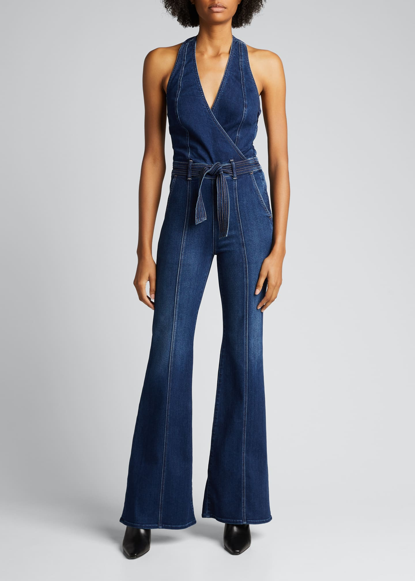 Image 1 of 5: The Halter Doozy Jumpsuit