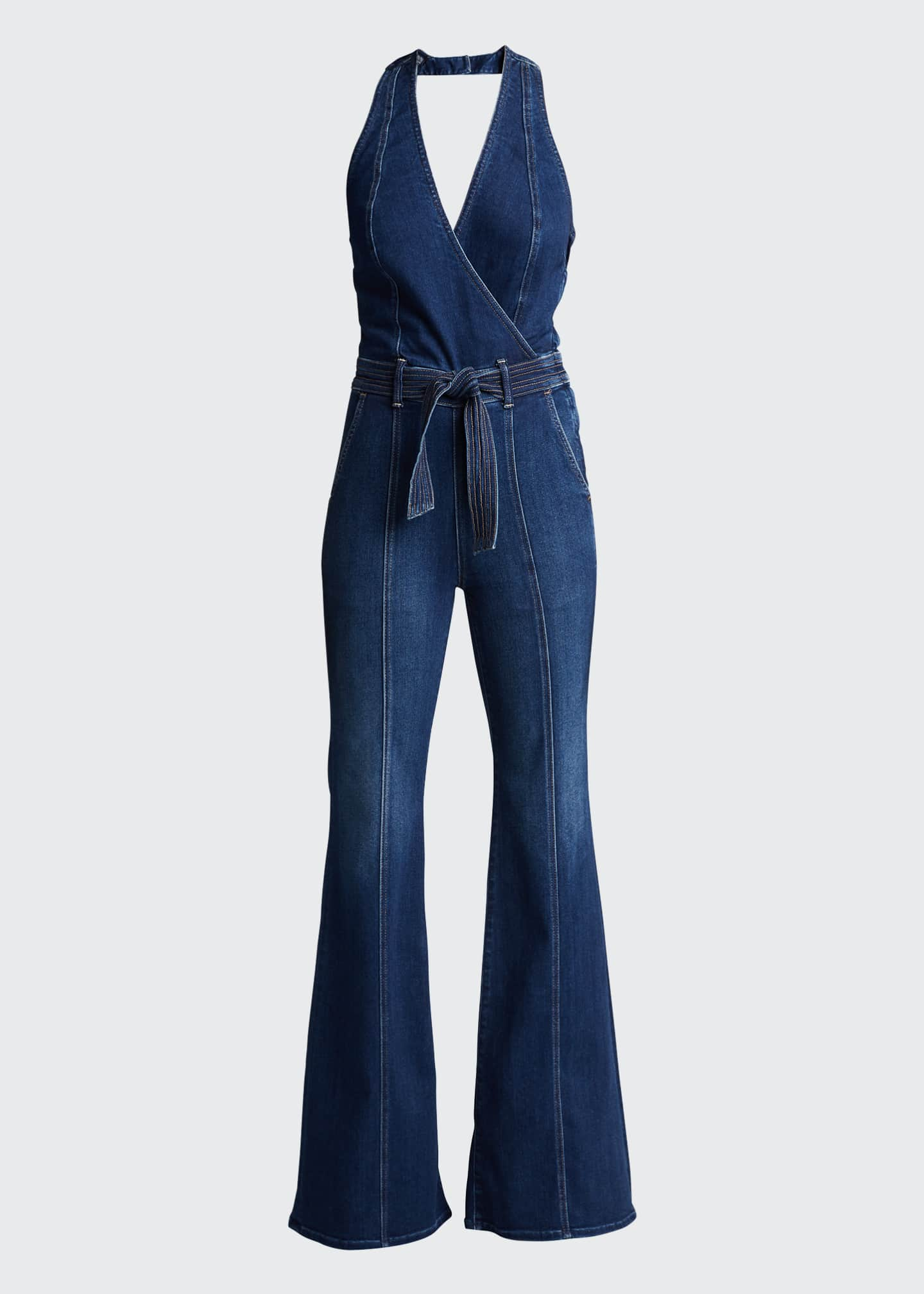 Image 5 of 5: The Halter Doozy Jumpsuit