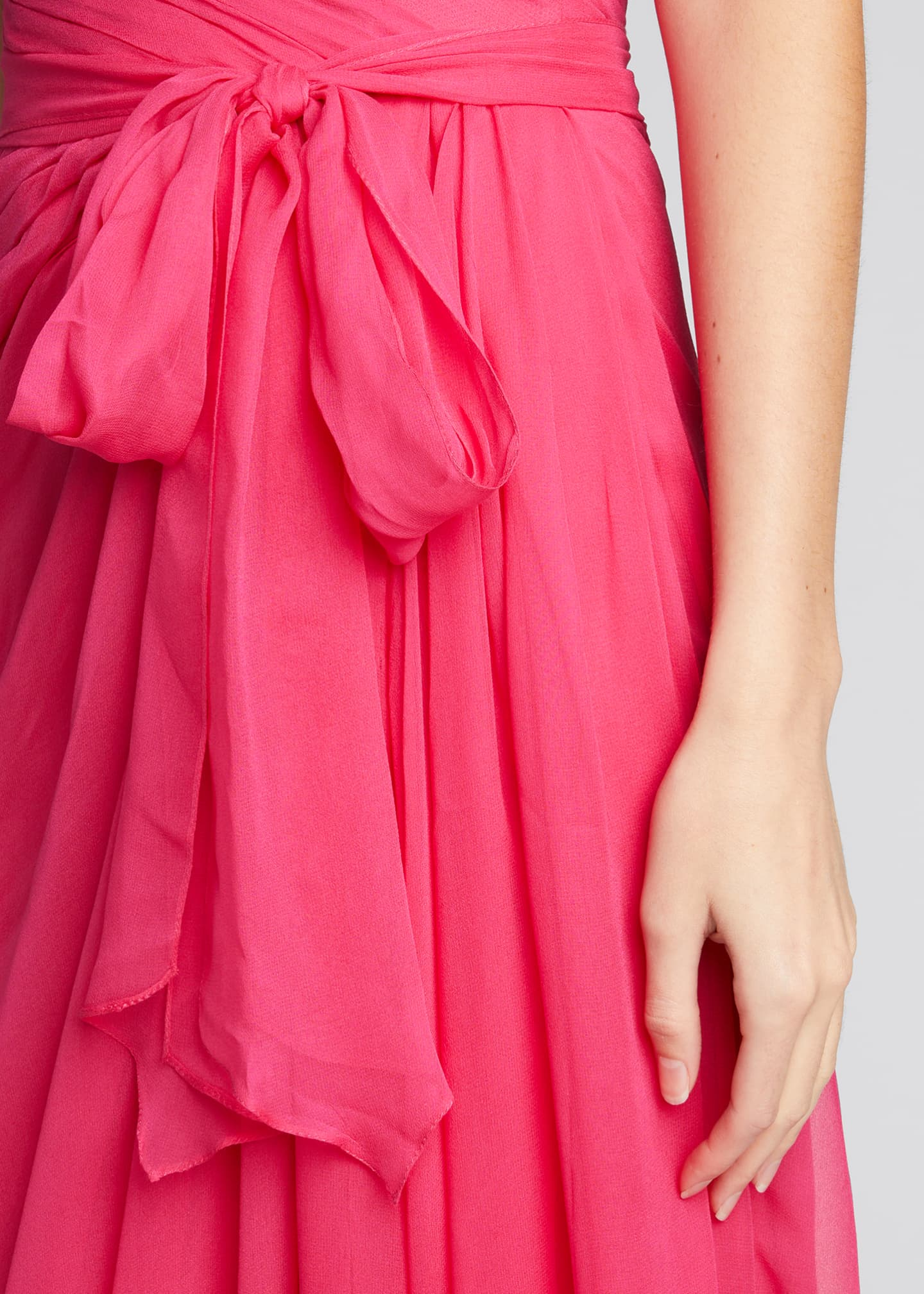 Image 4 of 5: Sweetheart Strapless Chiffon Gown