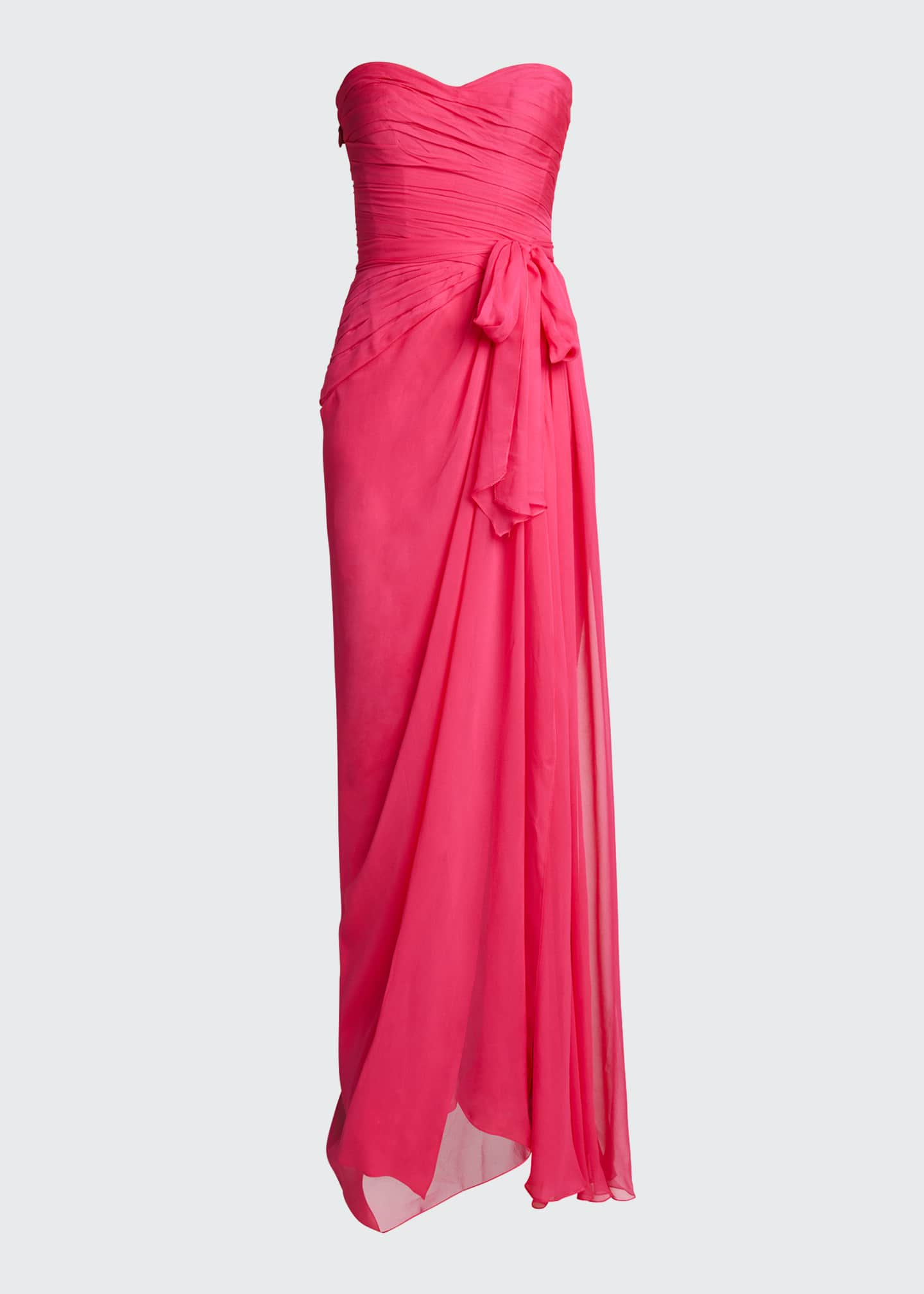 Image 5 of 5: Sweetheart Strapless Chiffon Gown