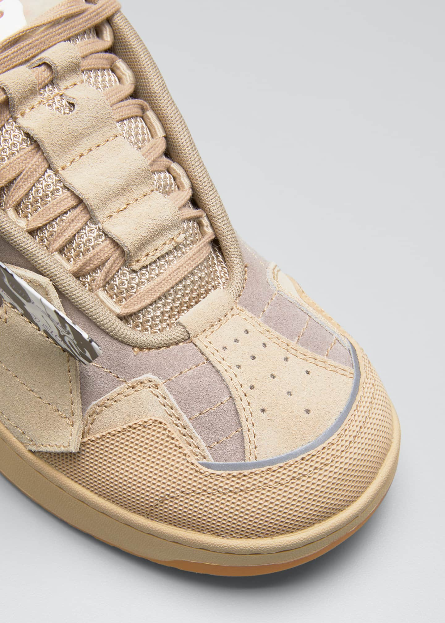 Image 3 of 3: Men's Arrow Skate Suede Sneakers