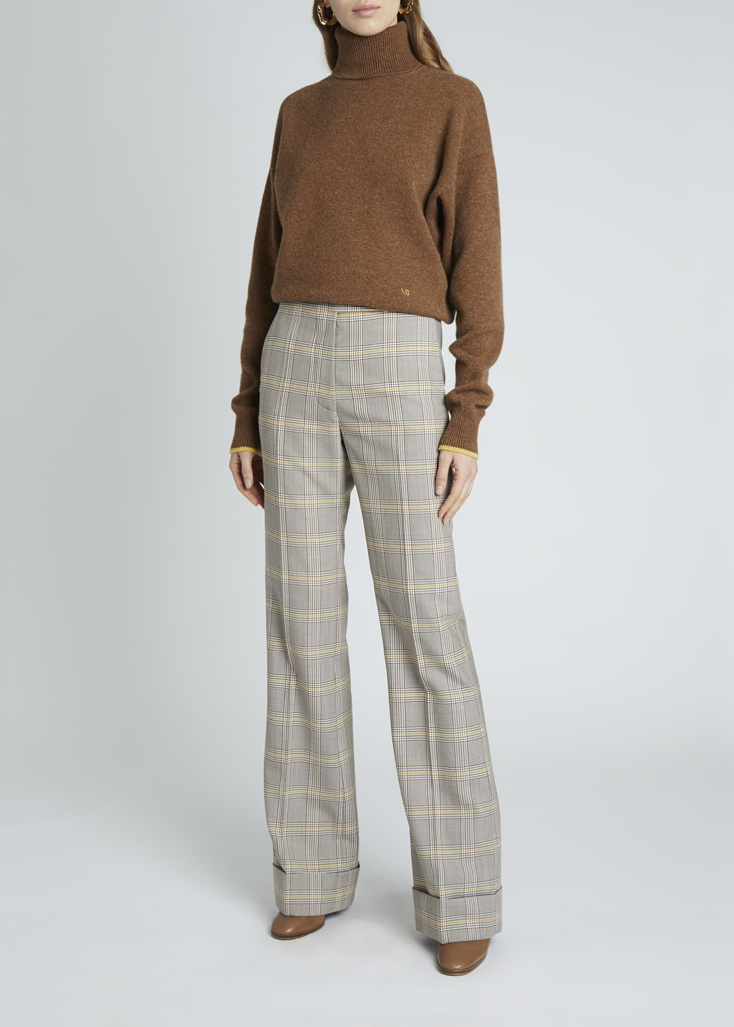 Image 3 of 4: Cashmere Turtleneck Sweater