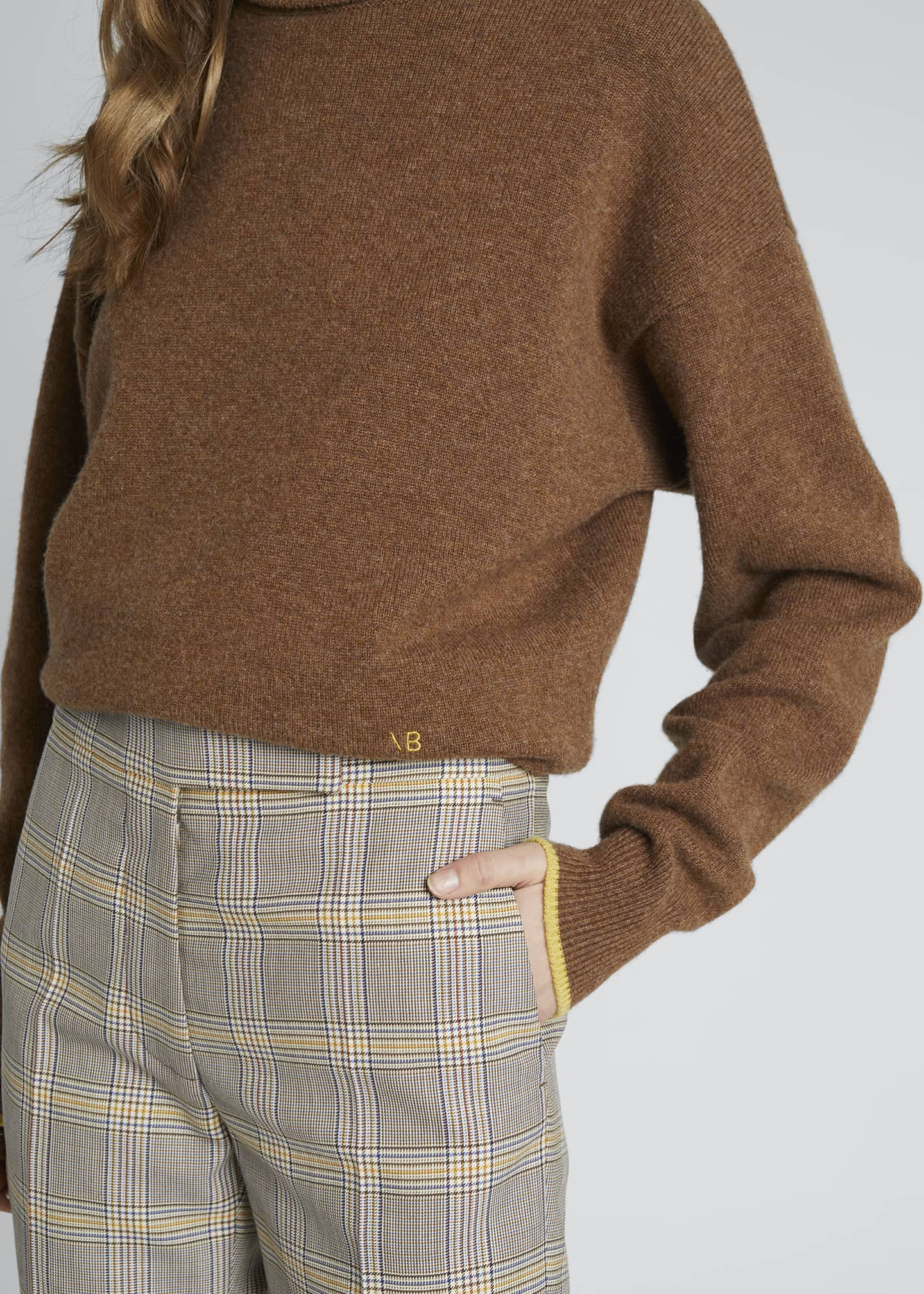 Image 4 of 4: Cashmere Turtleneck Sweater