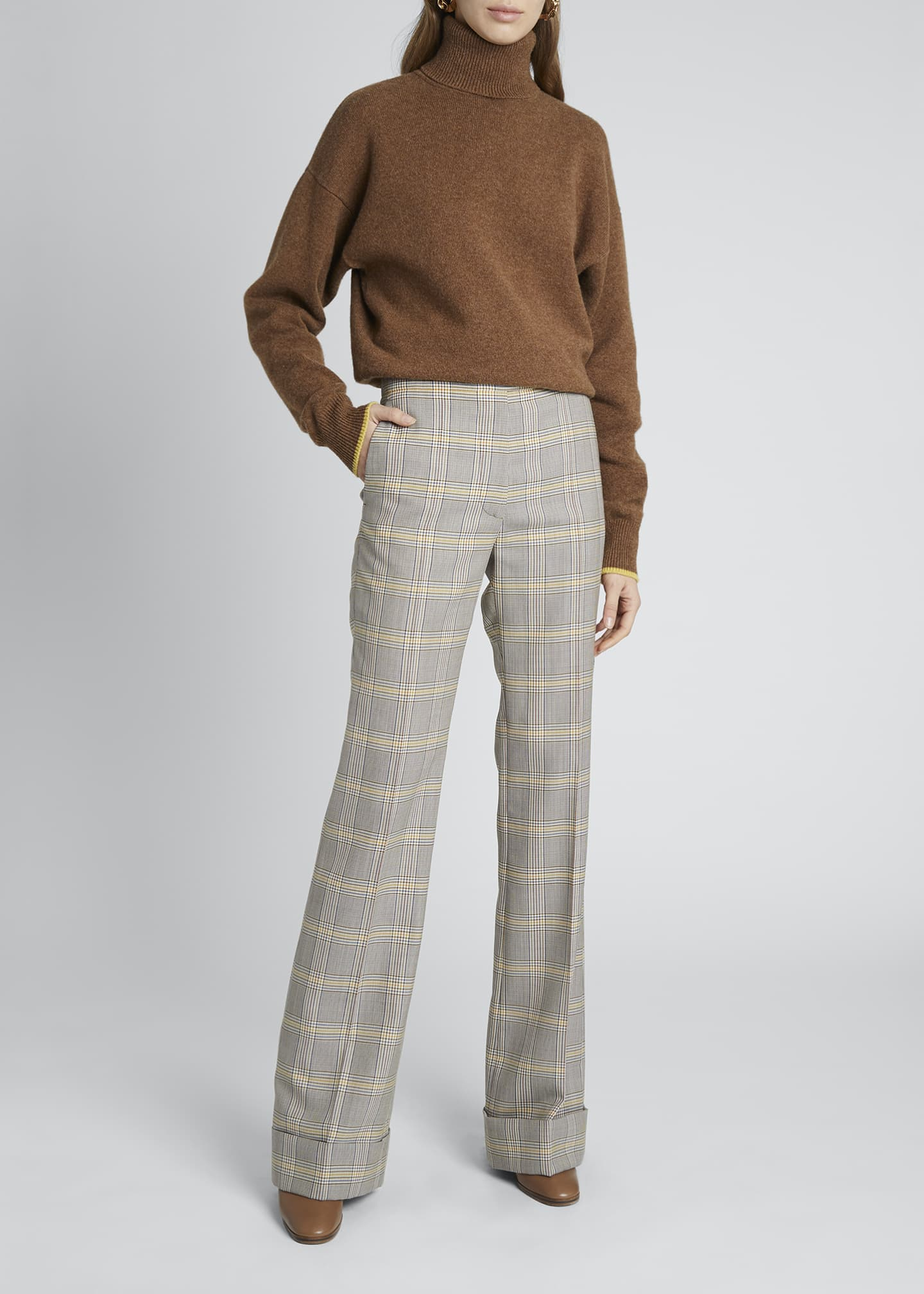 Image 1 of 4: Cashmere Turtleneck Sweater