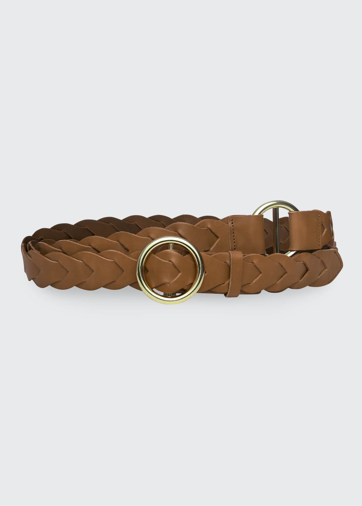 Image 1 of 2: Braided O-Ring Double Wrap Belt