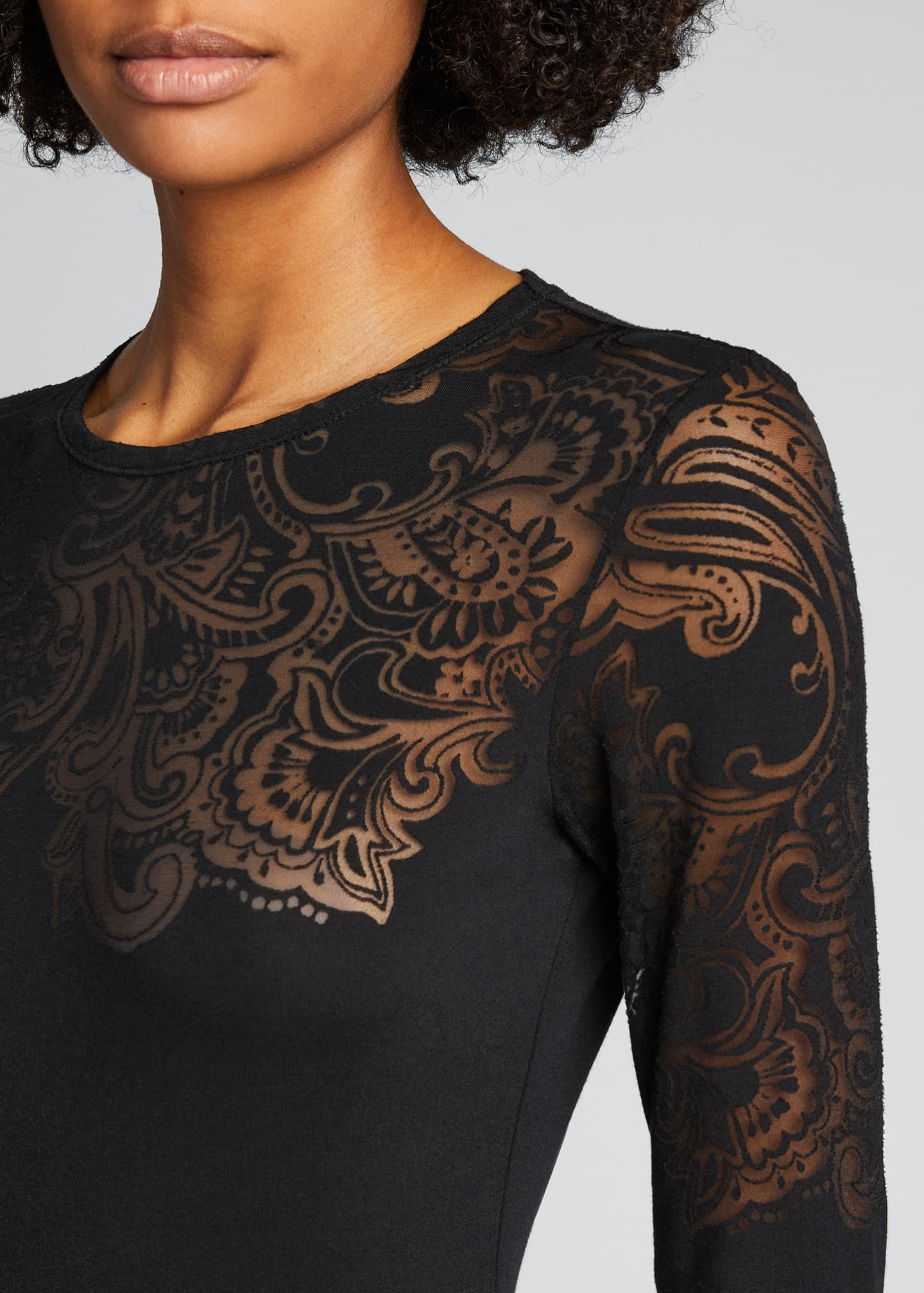 Image 4 of 5: Tattoo Long-Sleeve Tee