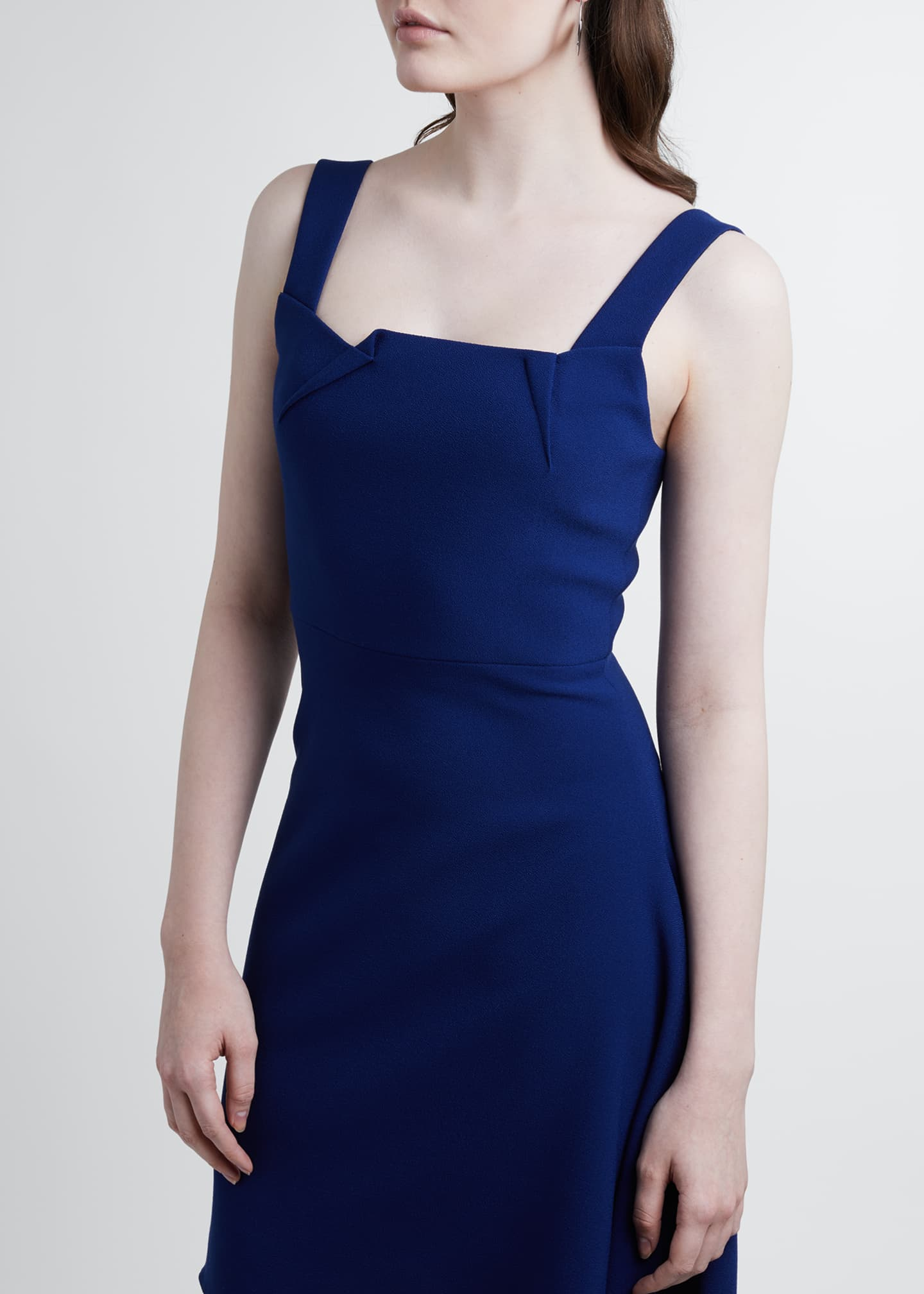 Image 3 of 3: Caracalla Crepe Dress