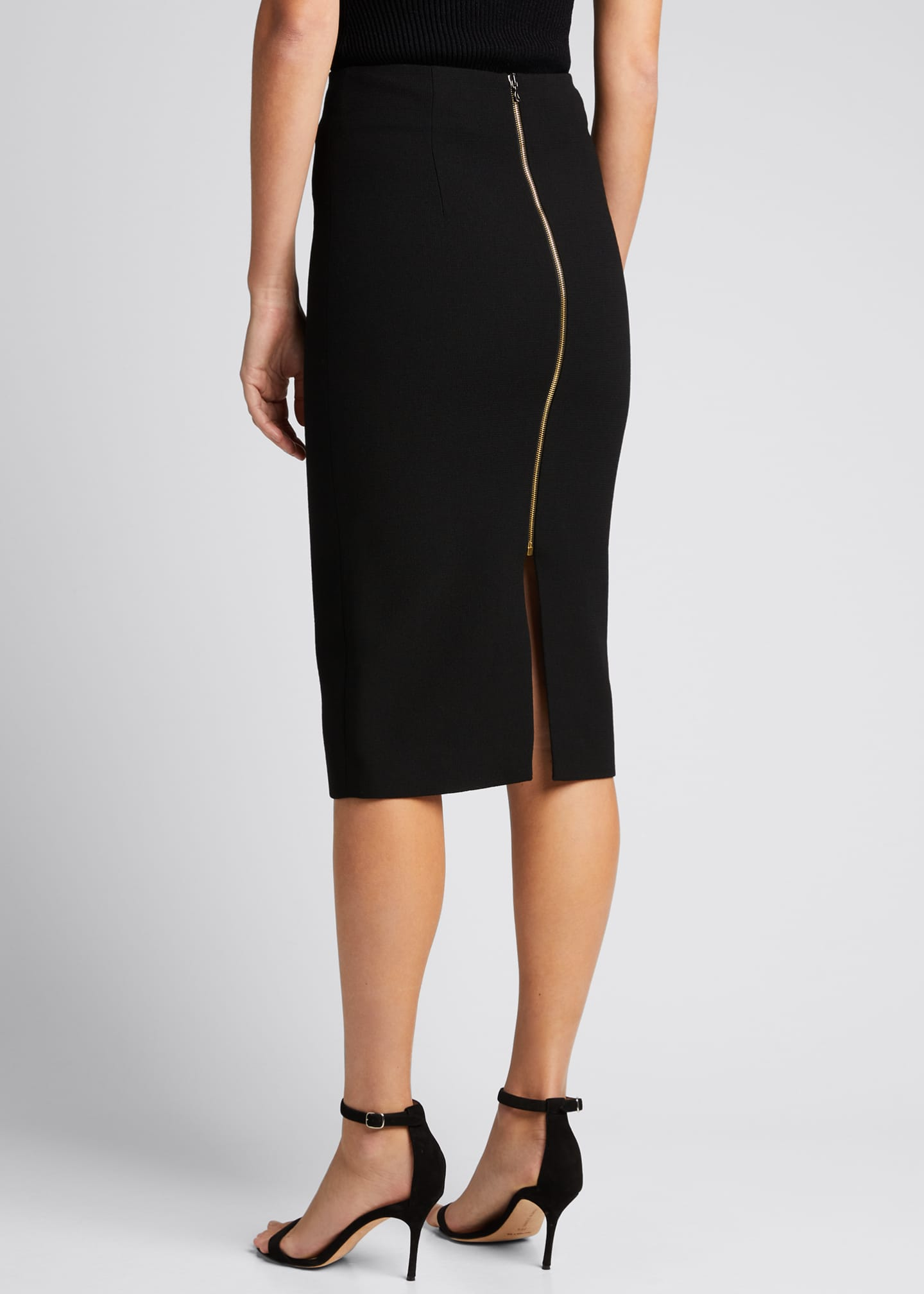 Image 2 of 3: Moka Wool Pencil Skirt