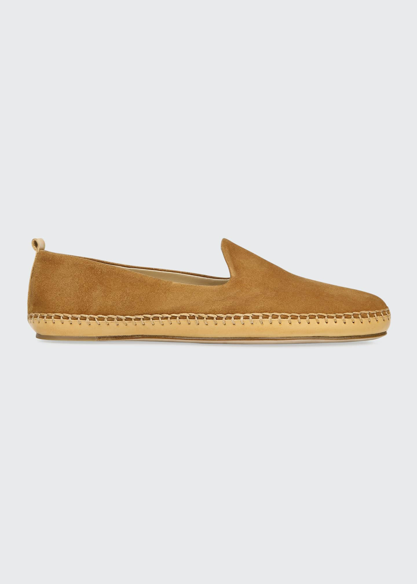 Image 1 of 3: Jaide Suede Moccasin Loafers