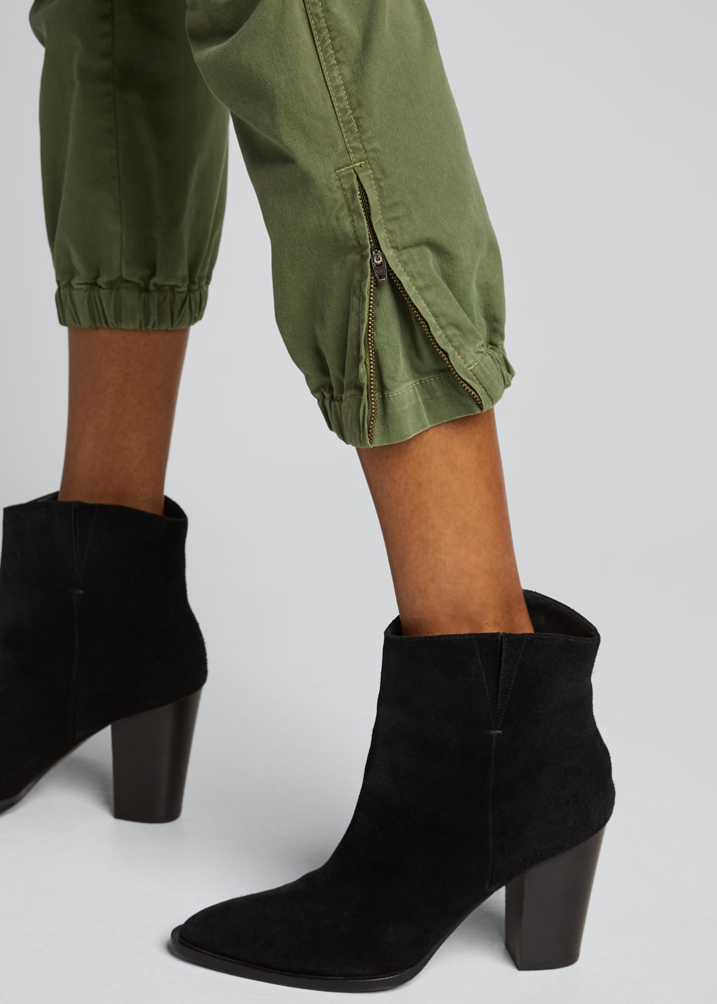 Image 4 of 5: Cropped Military Pants
