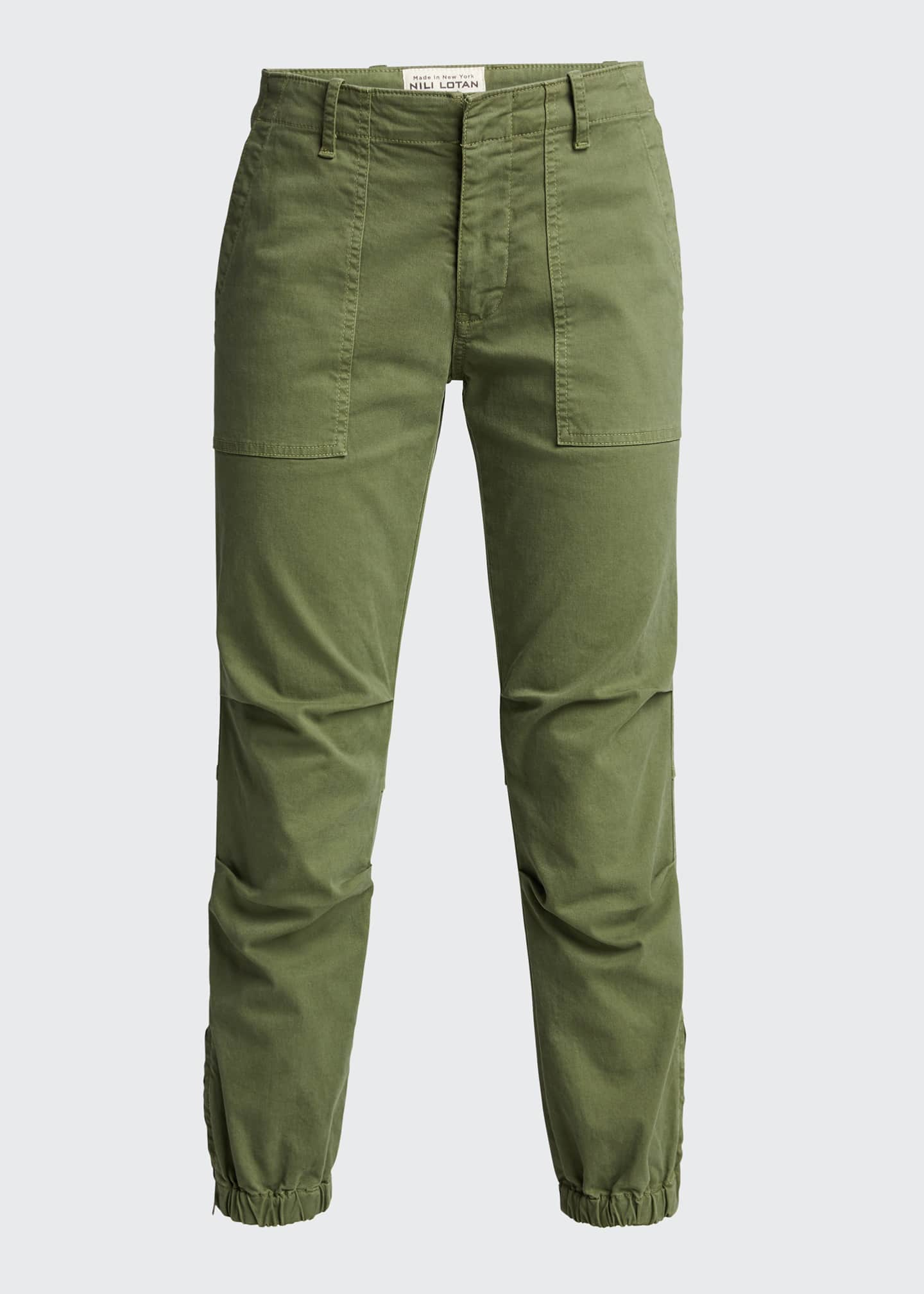 Image 5 of 5: Cropped Military Pants