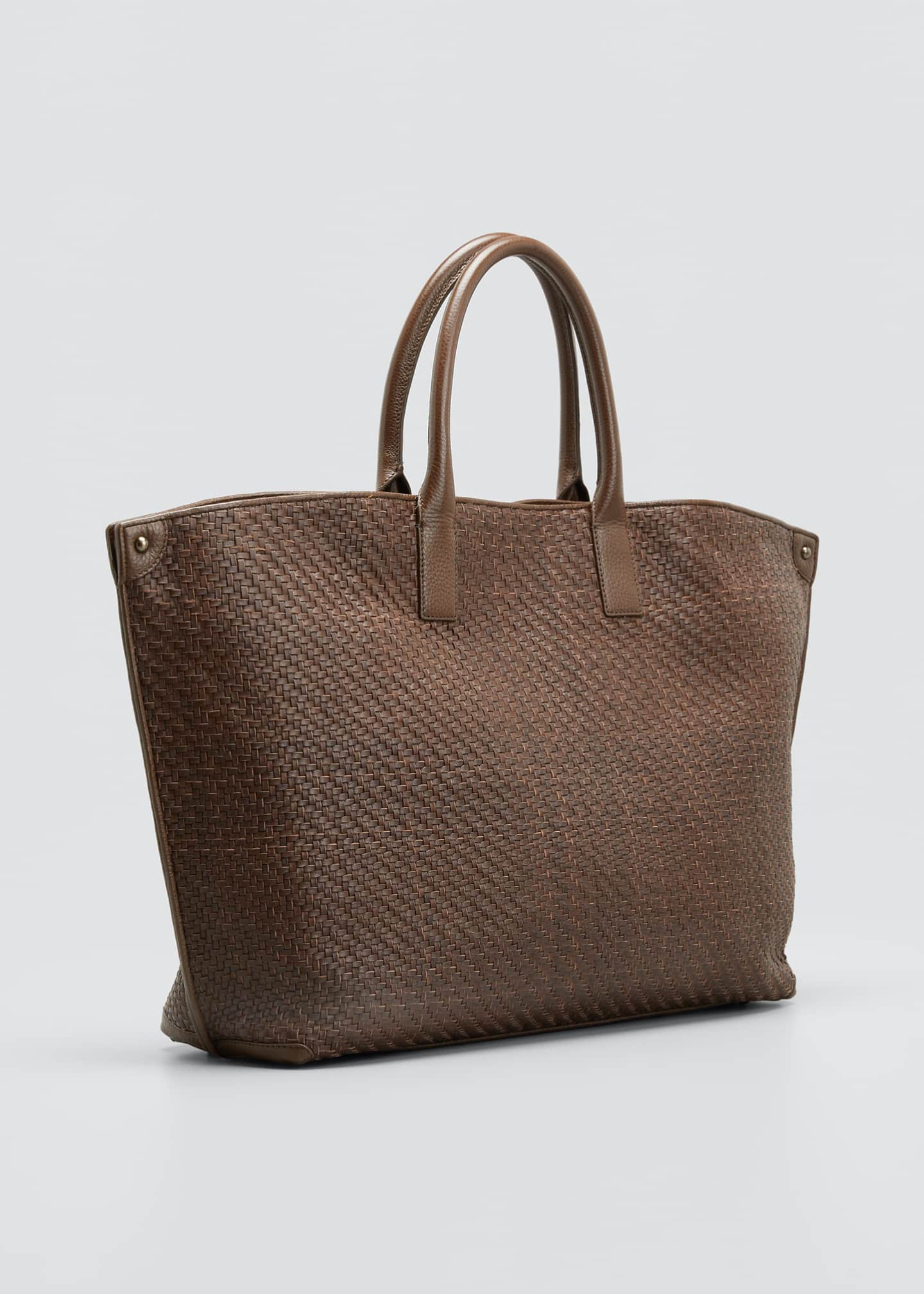Image 3 of 5: AI Medium Woven Tote Bag