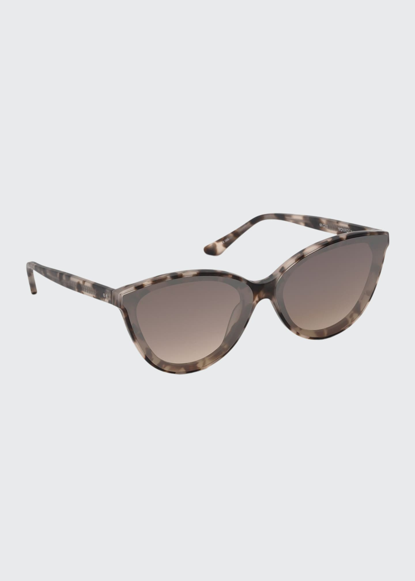 Image 1 of 2: Monroe Nylon Cat-Eye Sunglasses