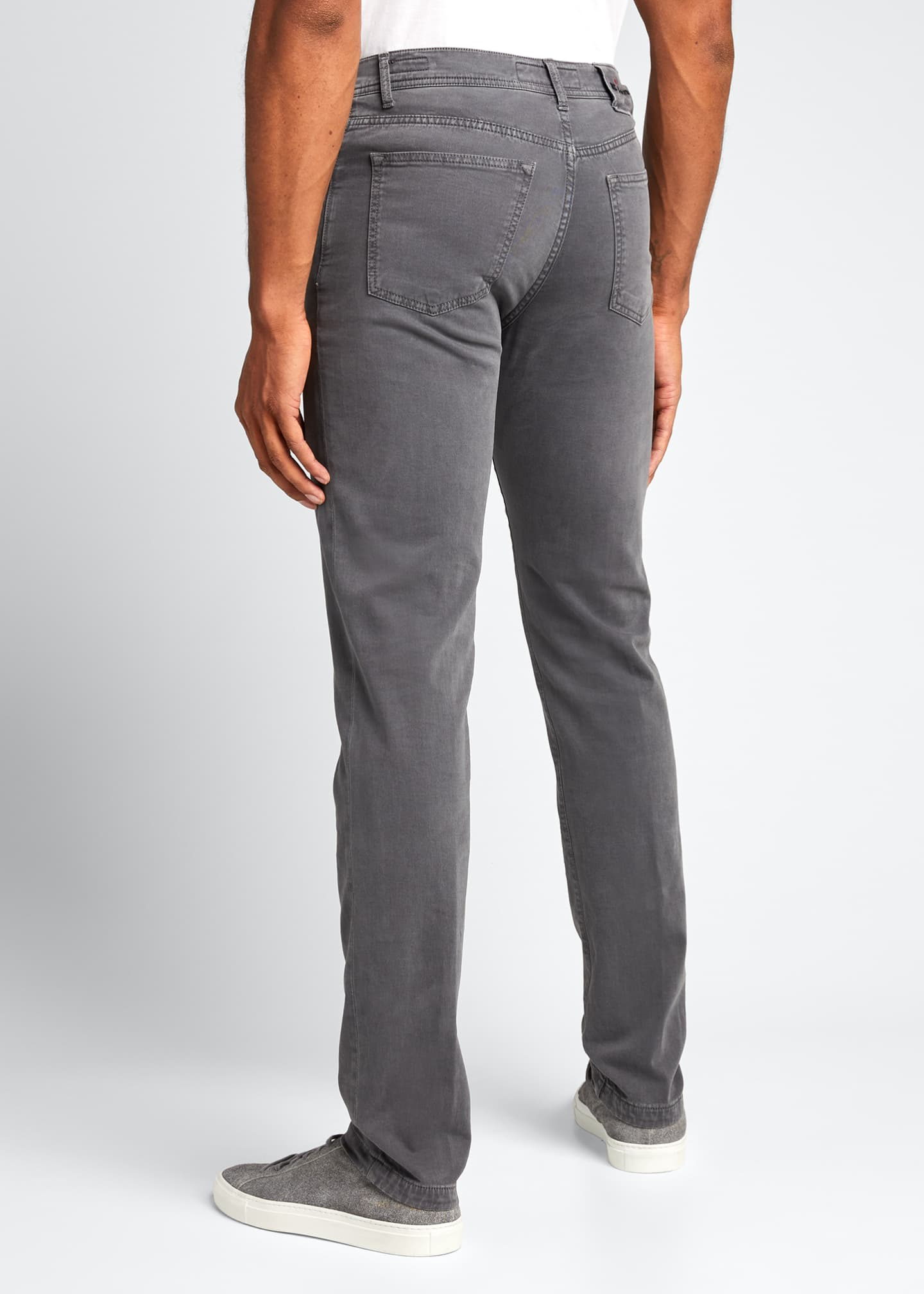 Image 2 of 5: Men's 5-Pocket Twill Pants