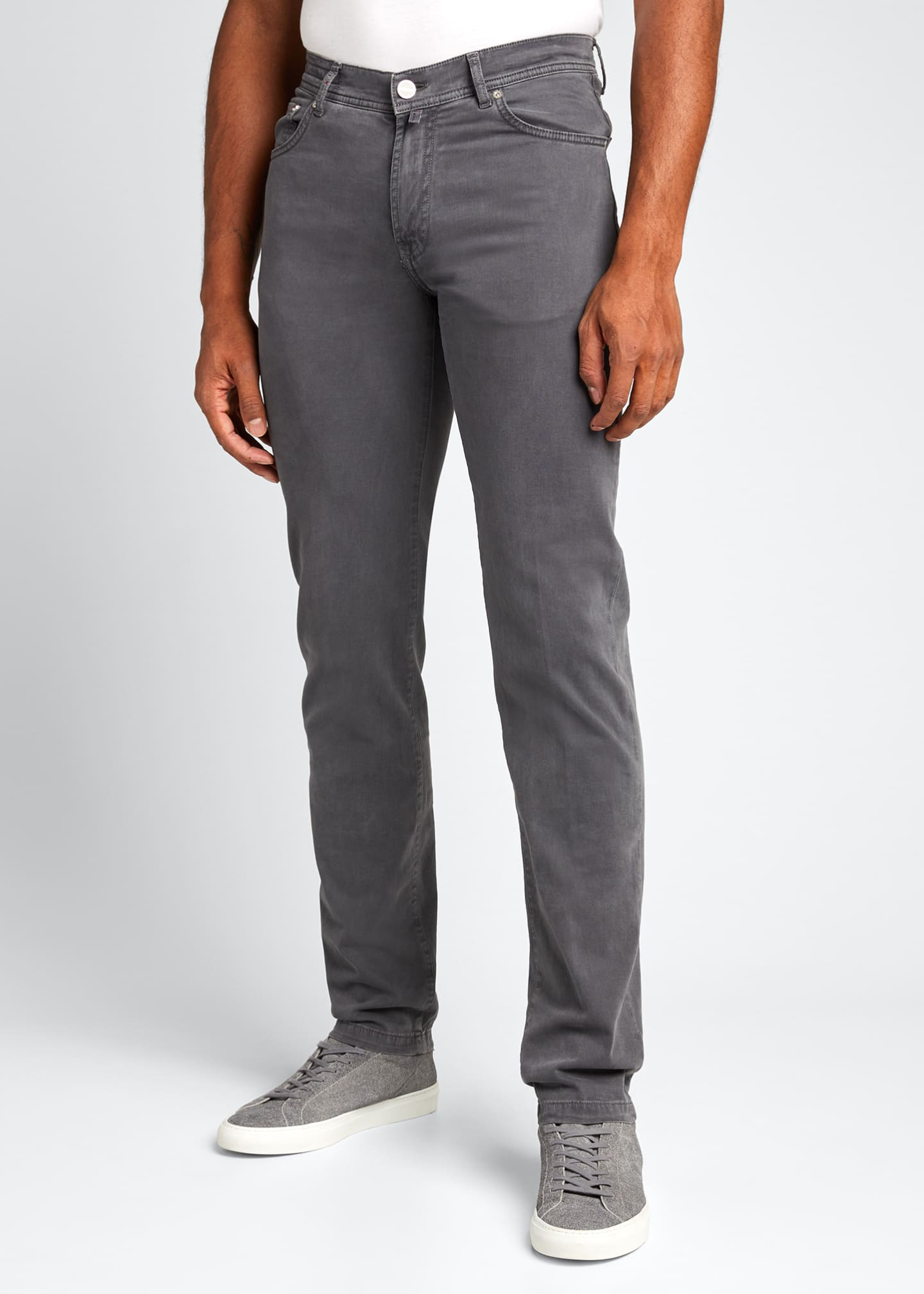 Image 3 of 5: Men's 5-Pocket Twill Pants