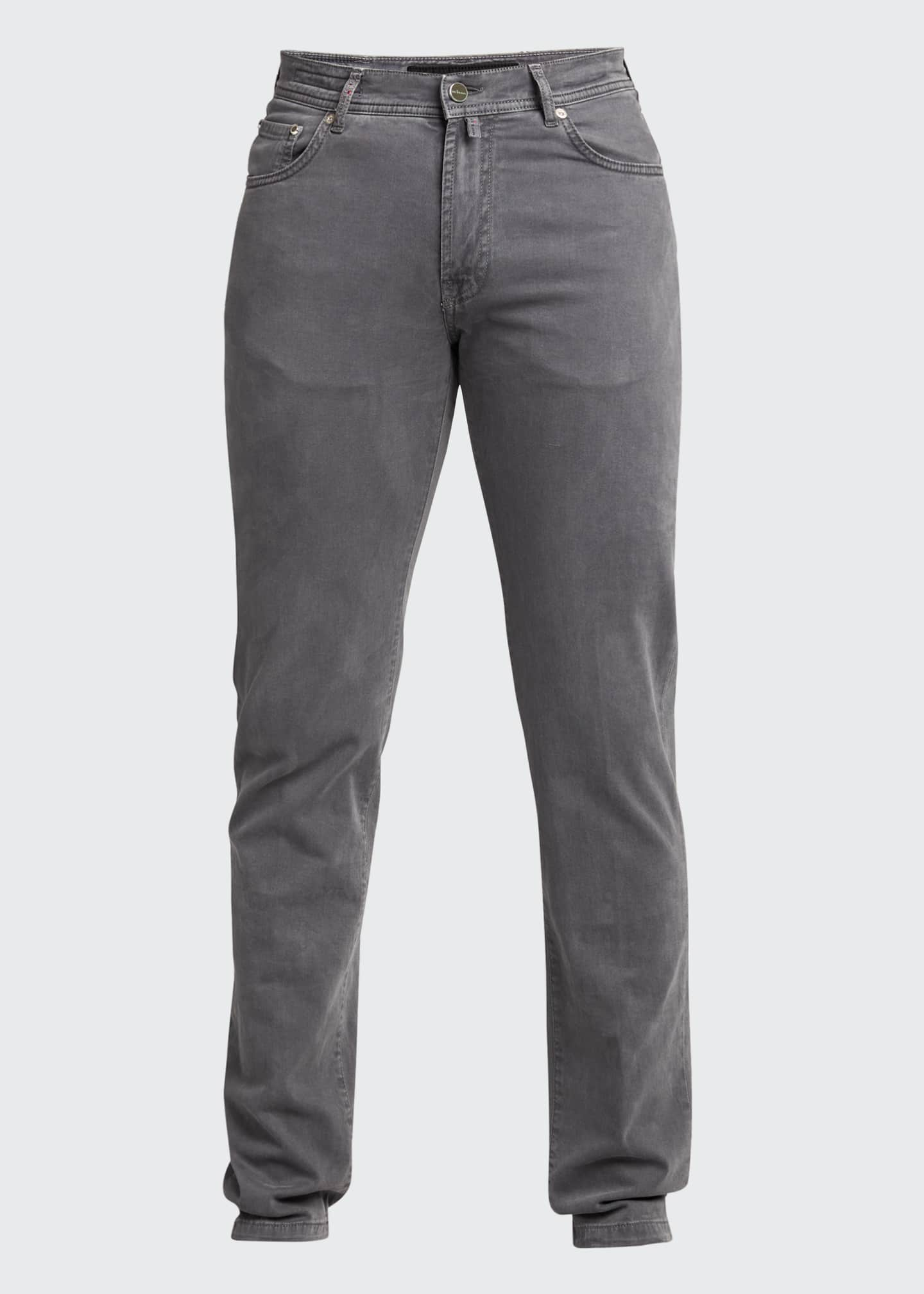 Image 5 of 5: Men's 5-Pocket Twill Pants