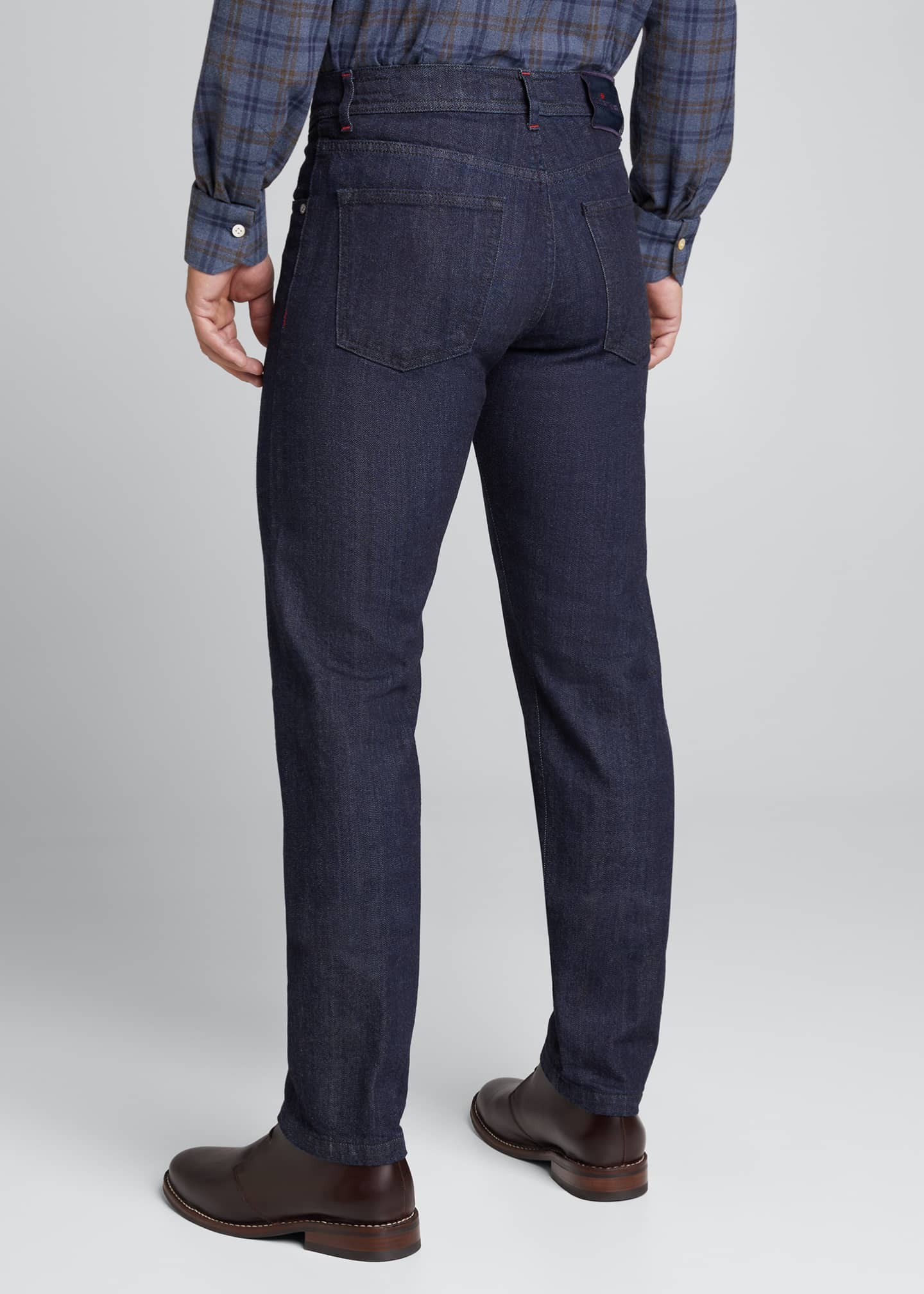 Image 2 of 4: Men's Classic Dark-Wash Jeans