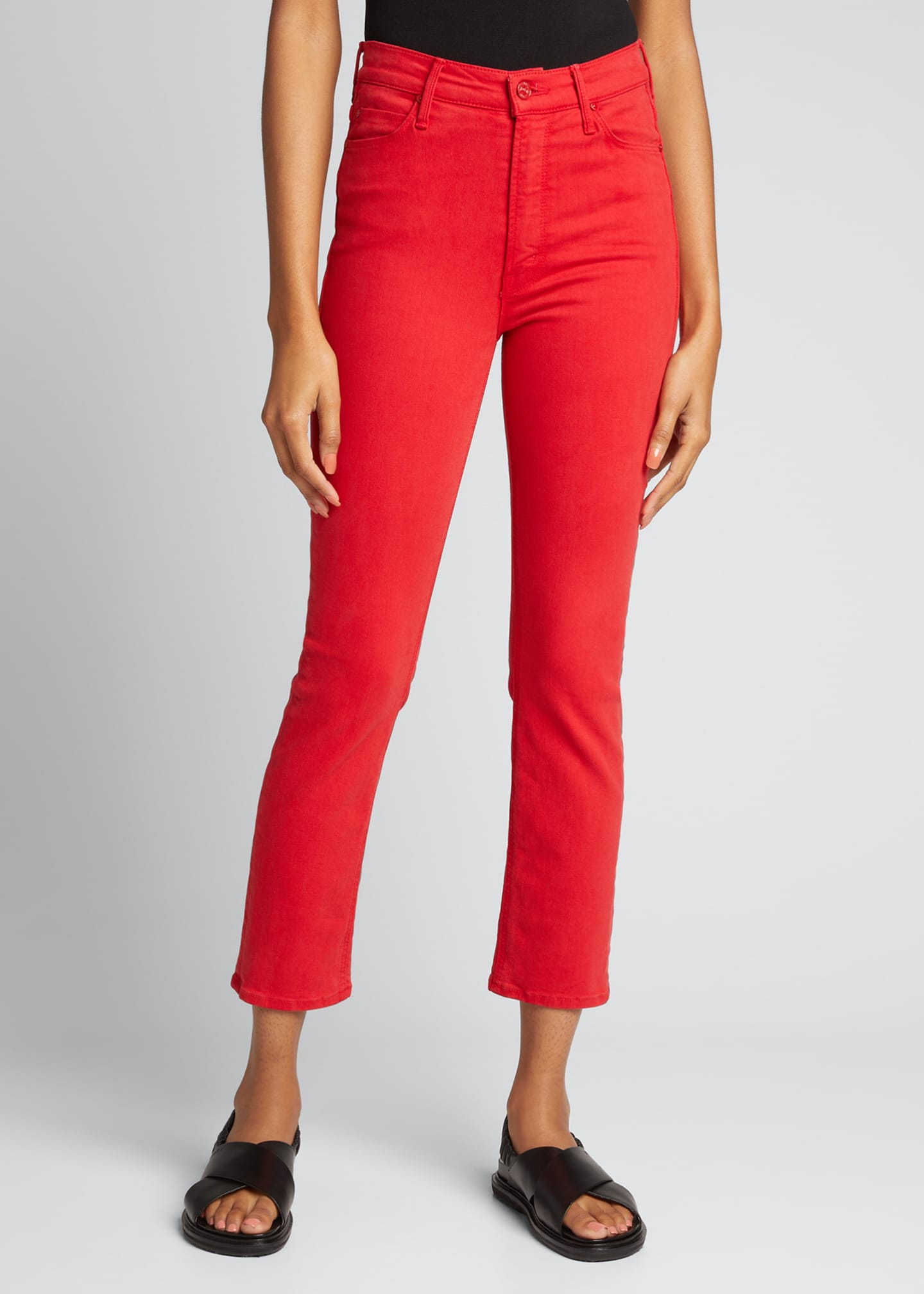 Image 3 of 5: The Dazzler Ankle Skinny Jeans