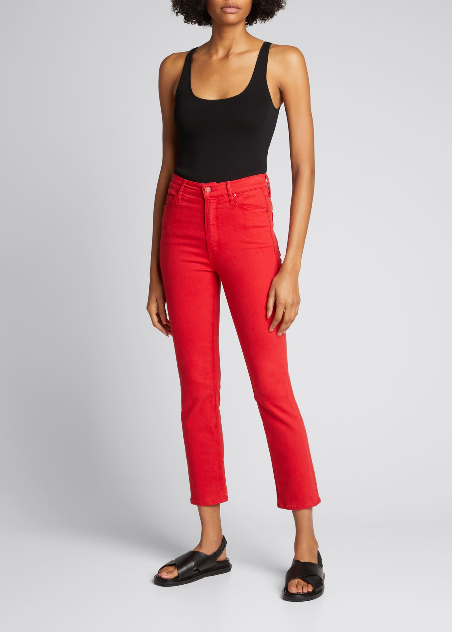 Image 1 of 5: The Dazzler Ankle Skinny Jeans