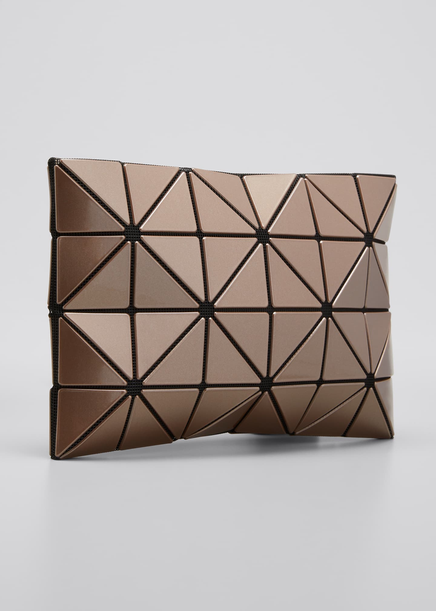 Image 3 of 5: Lucent Metallic Geo Tile Clutch Bag